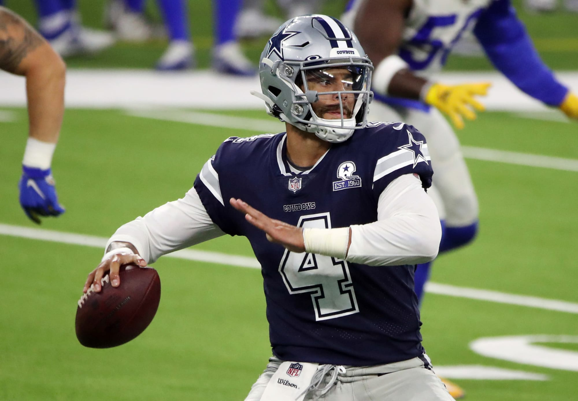 Business news  news latest news  business updates Cowboys, Dak Prescott agree to terms on massive 4-year contract thumbnail