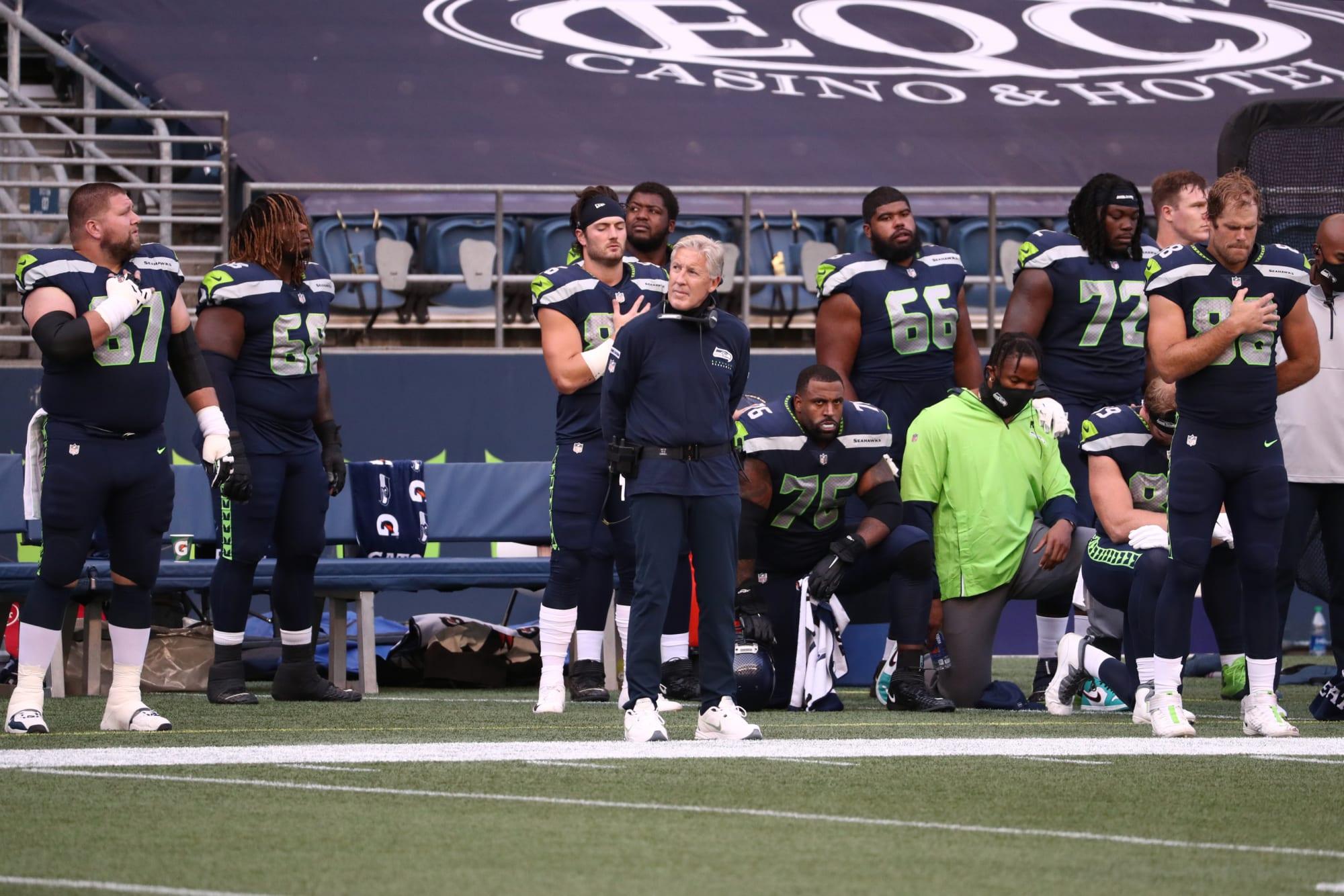 Política del Himno Nacional de la NFL 2021