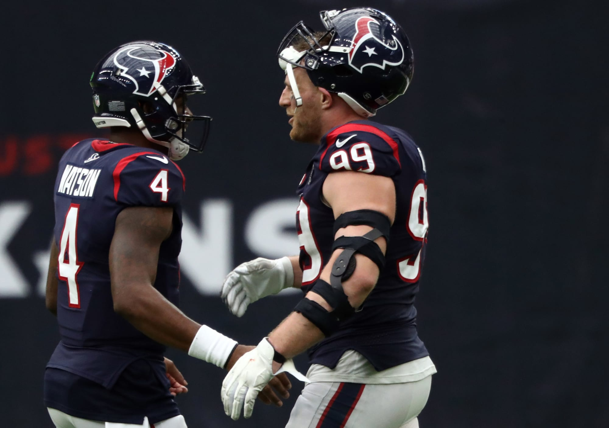 J.J. Watt's postgame reaction to blowout loss will fuel trade rumors (Video)