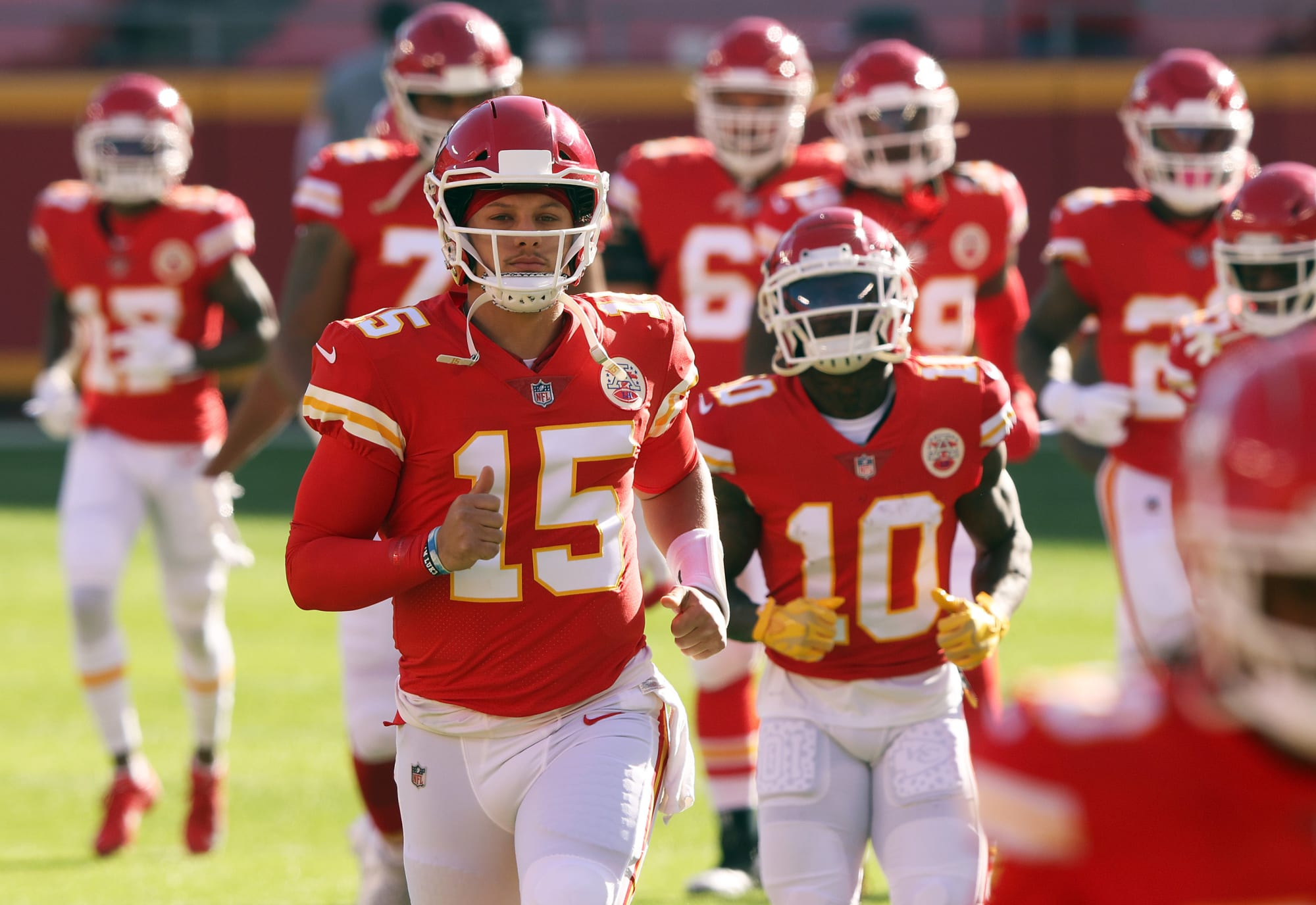 Patrick Mahomes using Odell Beckham Jr.'s declaration as motivation