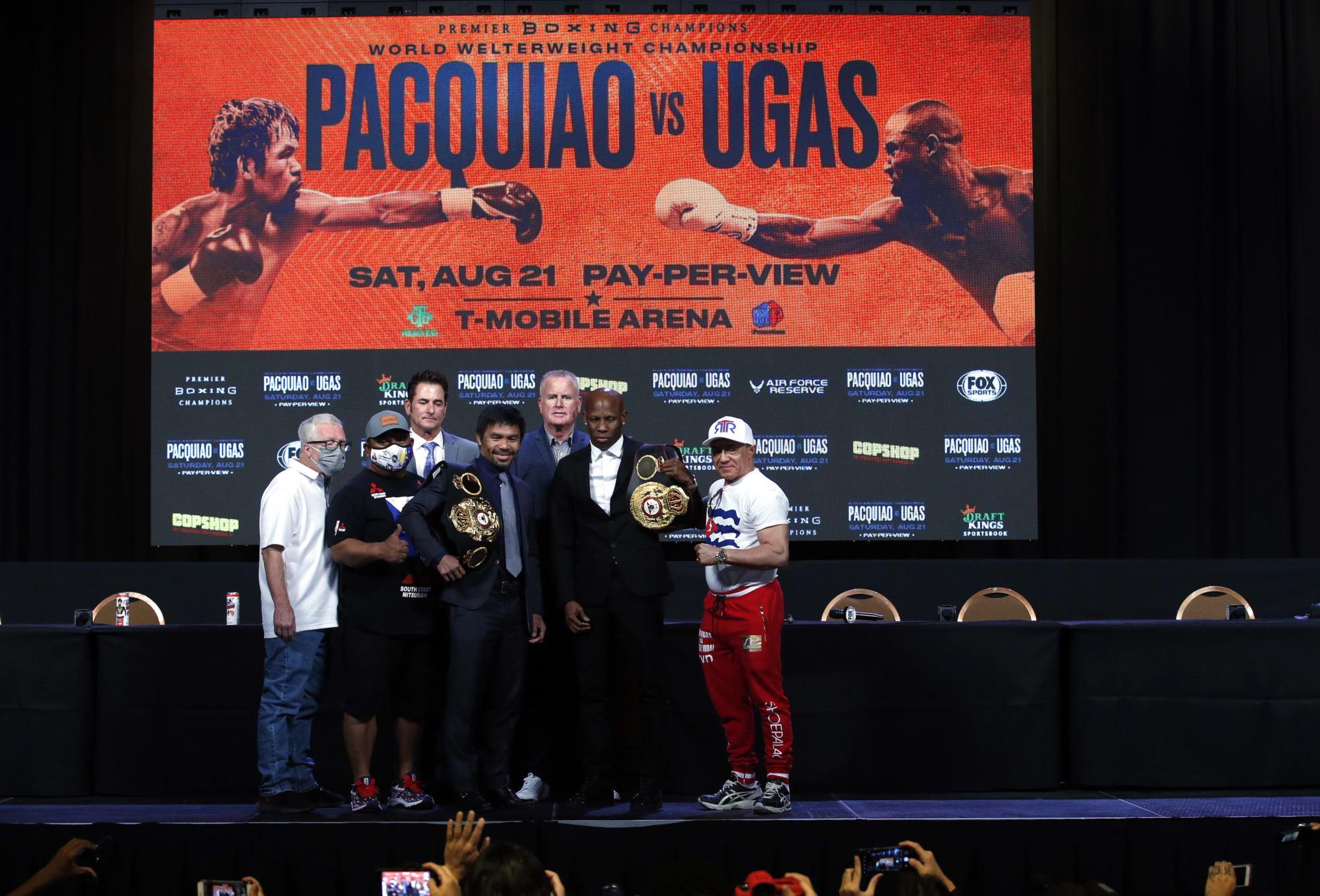 Cuotas de apuestas completas de Manny Pacquiao vs.Yordenis Ugás