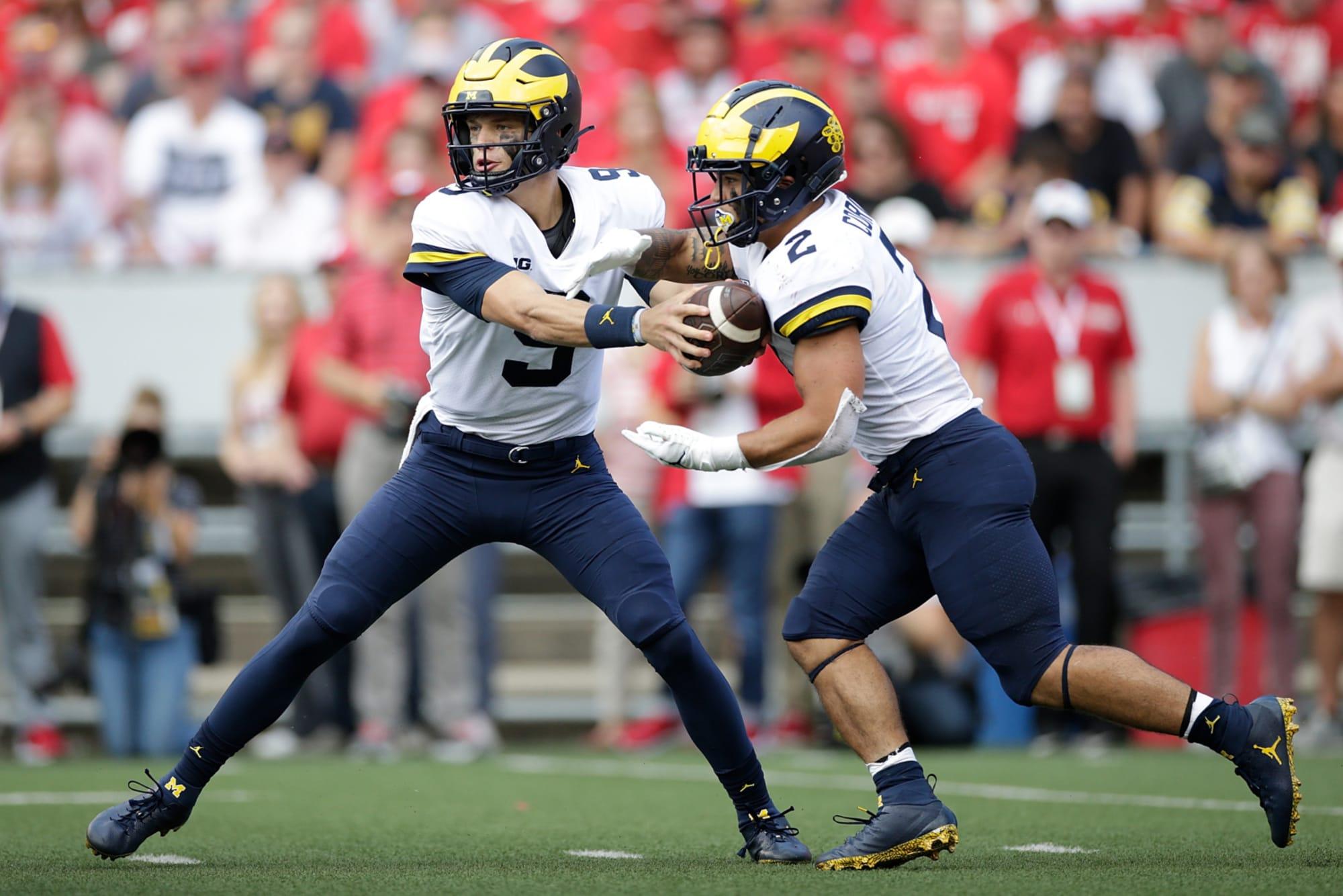 Rich Eisen has a football crush on Michigan freshman quarterback J.J. McCarthy