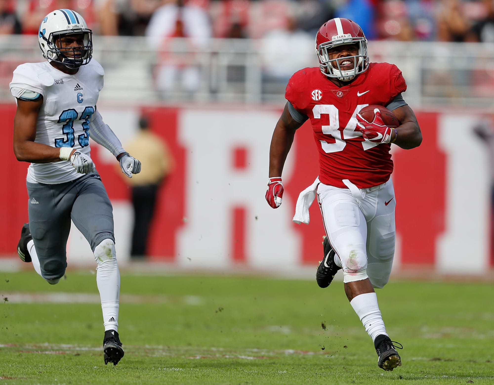 Week 13 College Football Injury Report Damien Harris Will Play