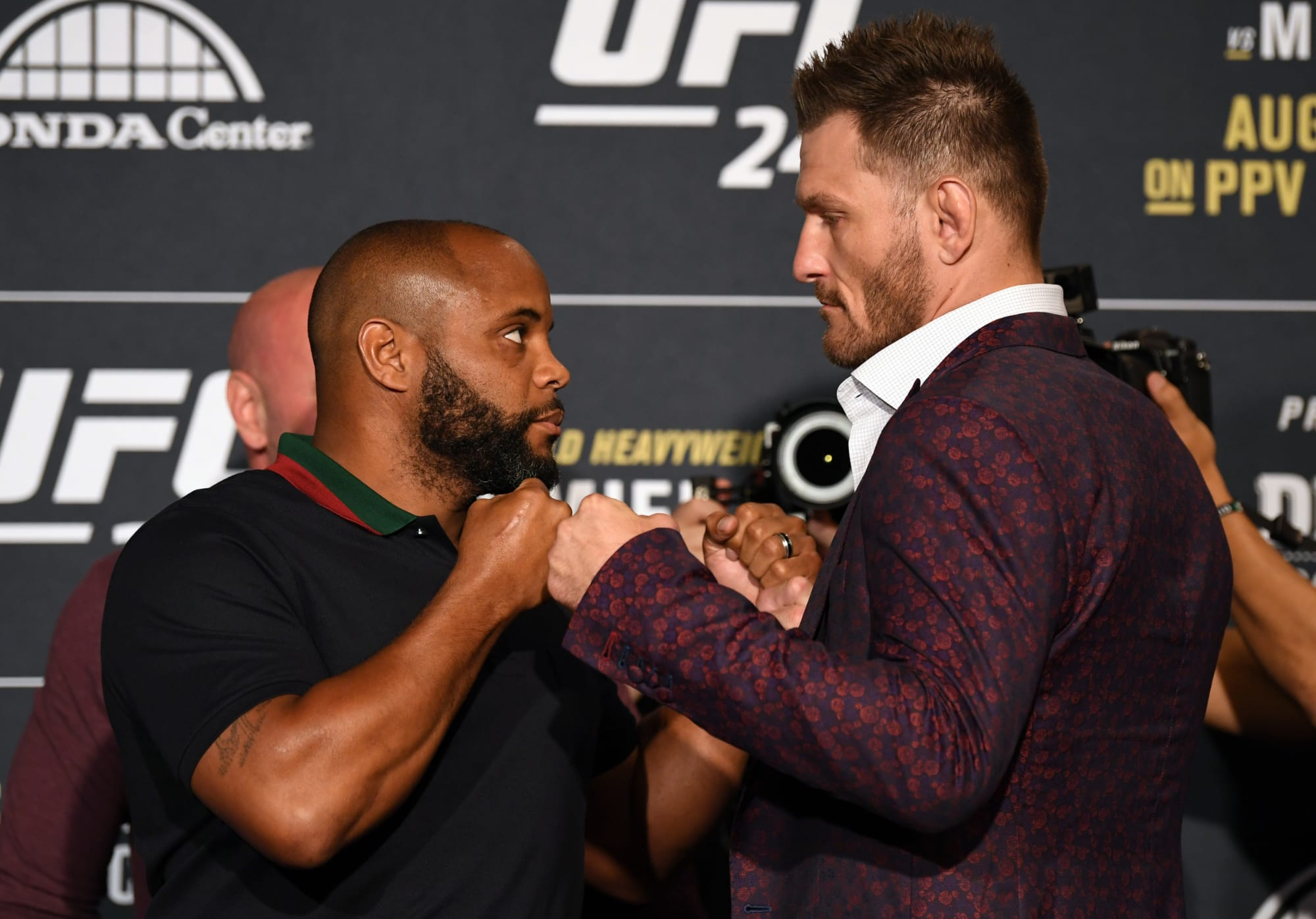 Here is the full UFC 252: Stipe Miocic vs. Daniel Cormier main card