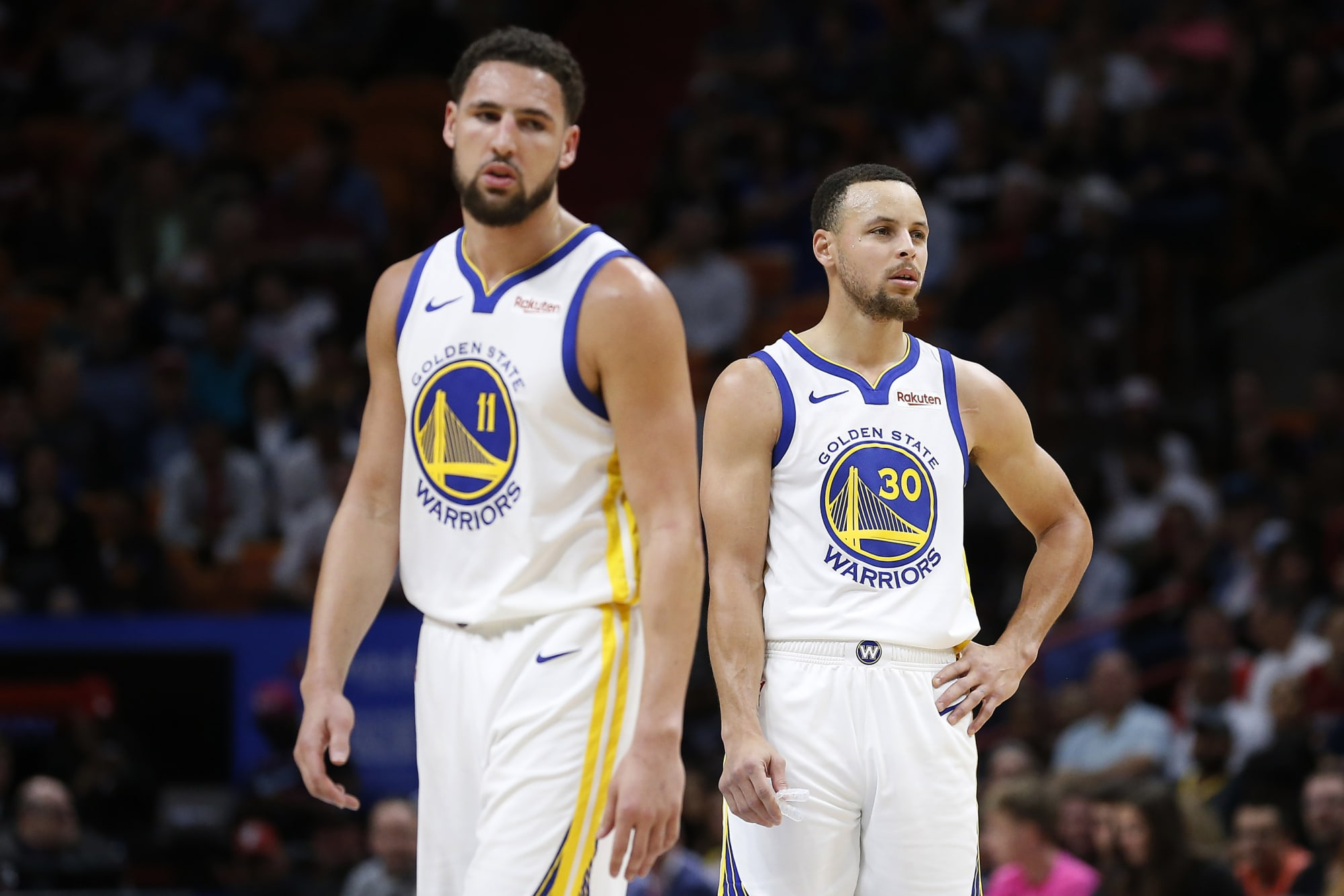 The Warriors can still add three former Steph Curry and Klay Thompson colleagues.
