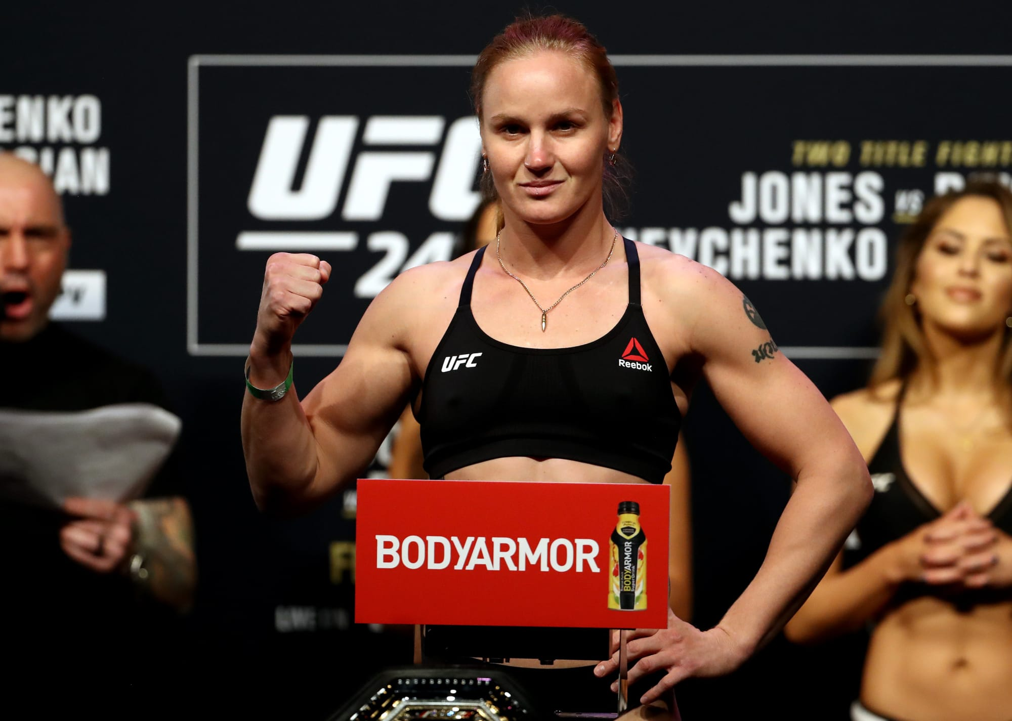 UFC 255: Valentina Shevchenko successfully keeps title despite showing from Jennifer Maia