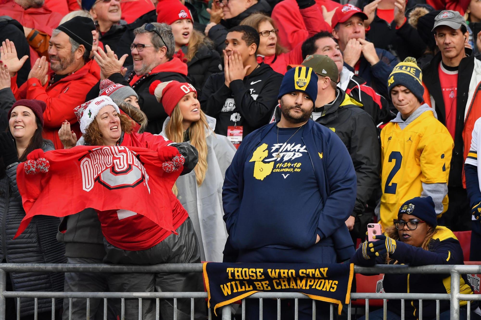 Ohio State football fans enjoy off week by trolling Jim Harbaugh, Michigan