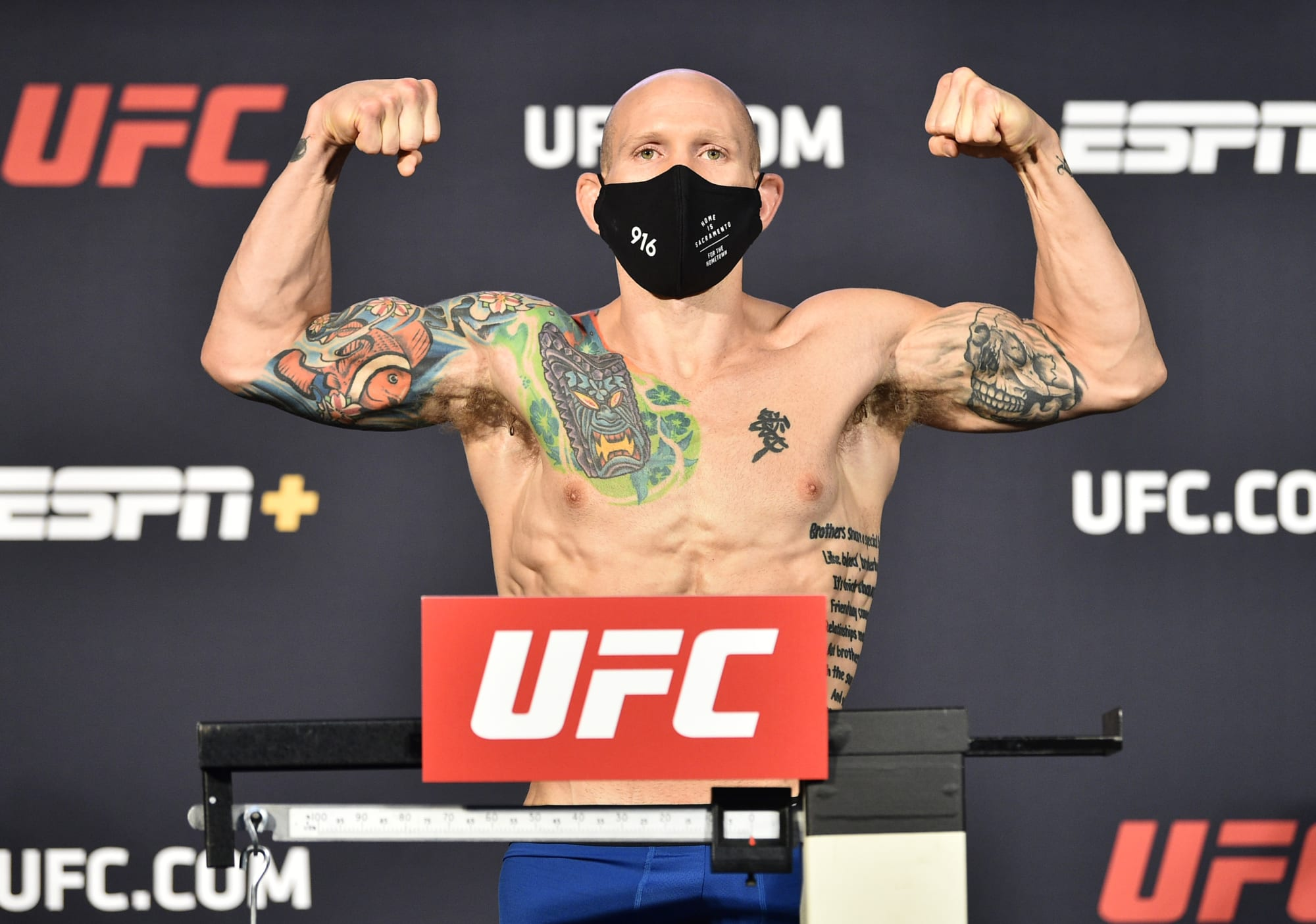 UFC Vegas 3: Josh Emmett bests Shane Burgos in entertaining slugfest