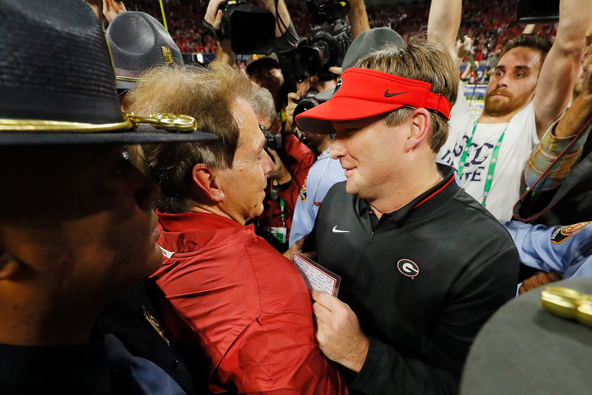 Kirby Smart has the best Nick Saban golf story ever