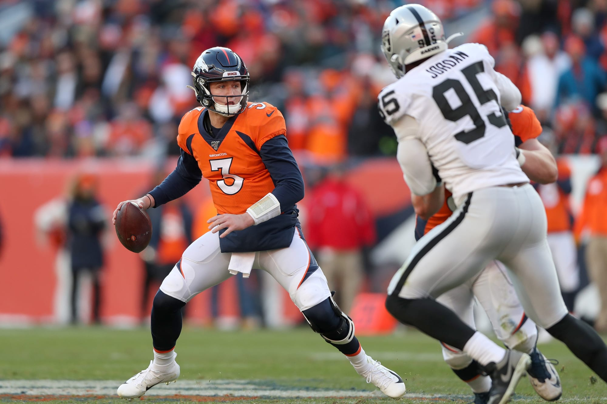 Is Drew Lock or Derek Carr the second-best AFC West quarterback?