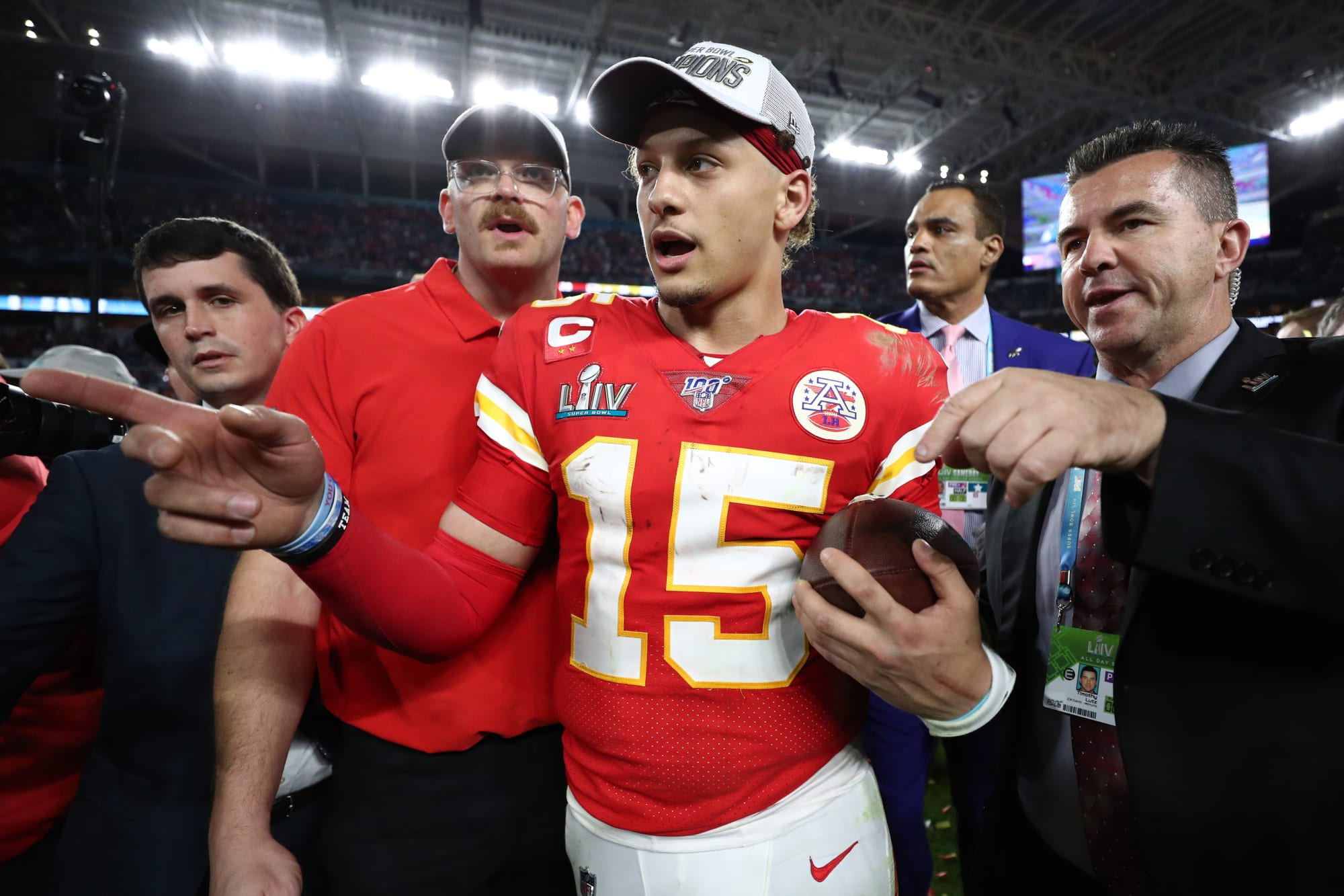 You'll never guess who'll lead the league in passing alongside Patrick Mahomes