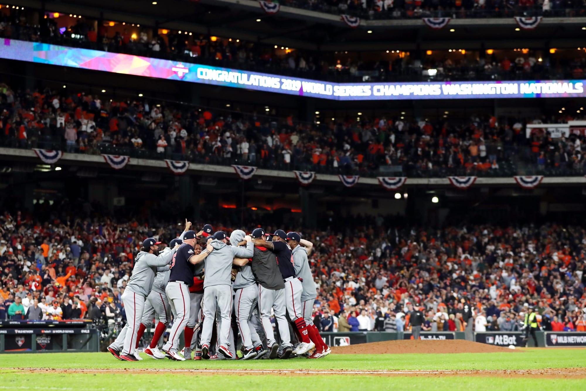 The MLB postseason TV schedule is finally set