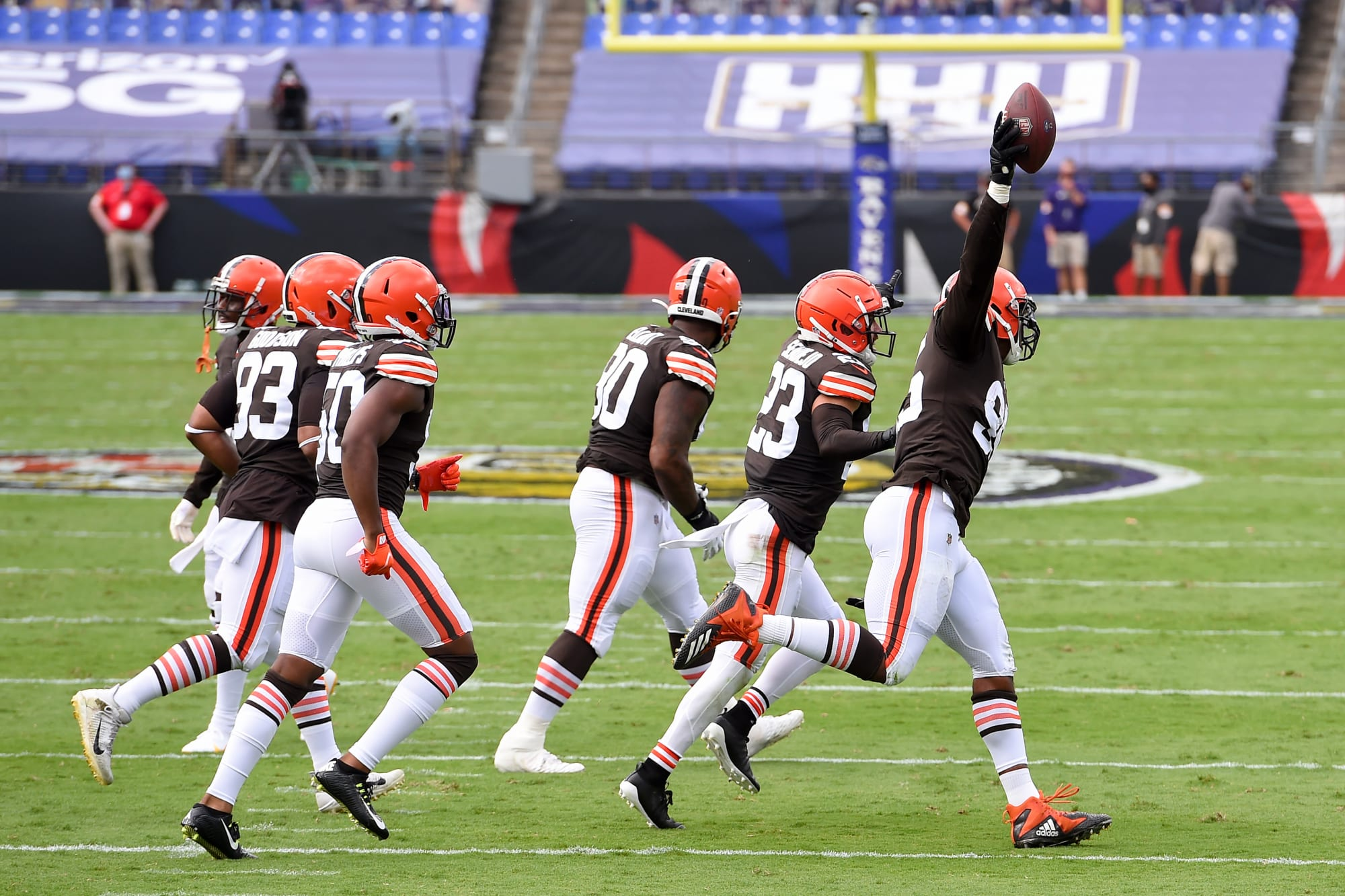 Browns uniform combination for Thursday Night Football is awesome