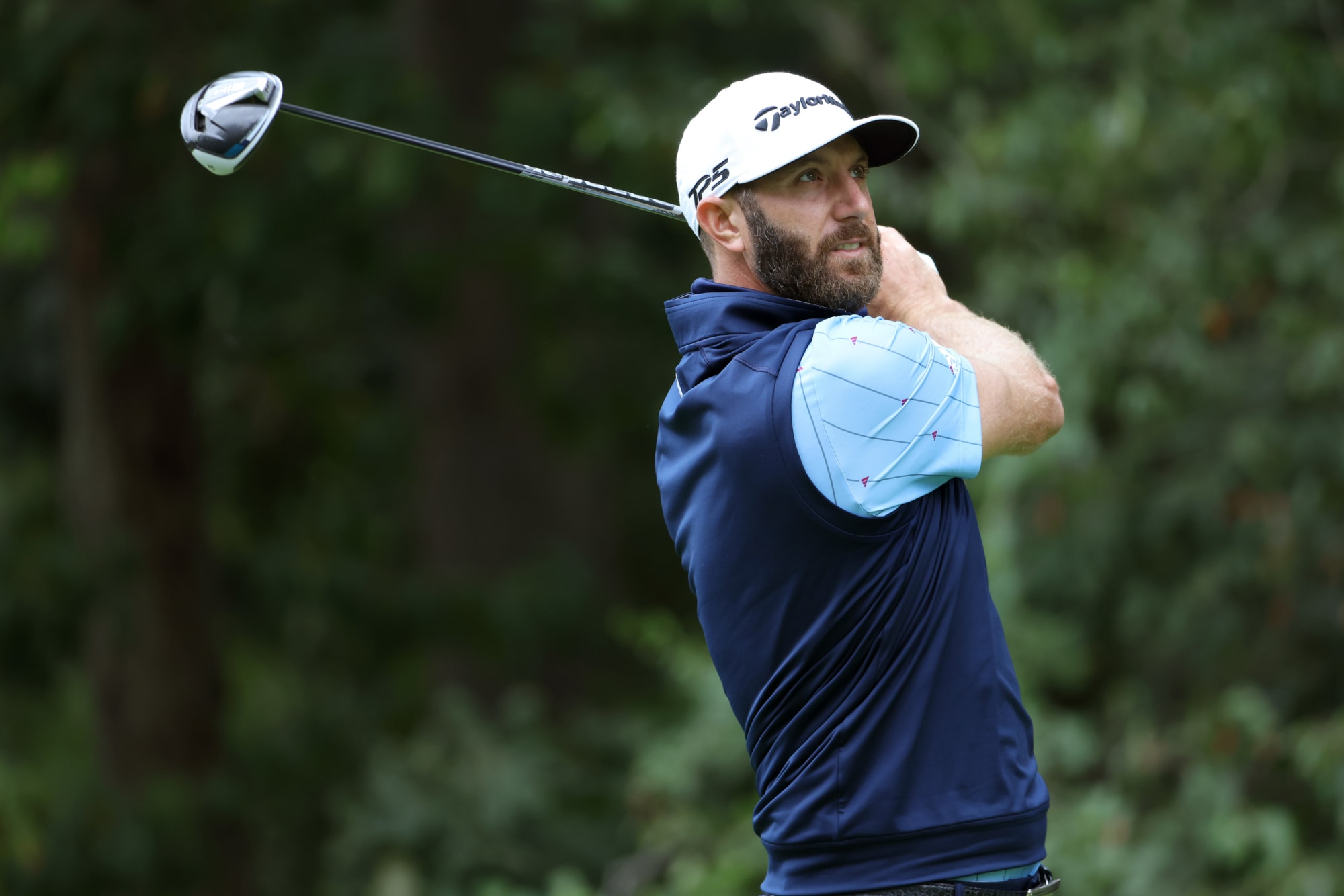 Dustin Johnson's U.S. Open prep begins off the course