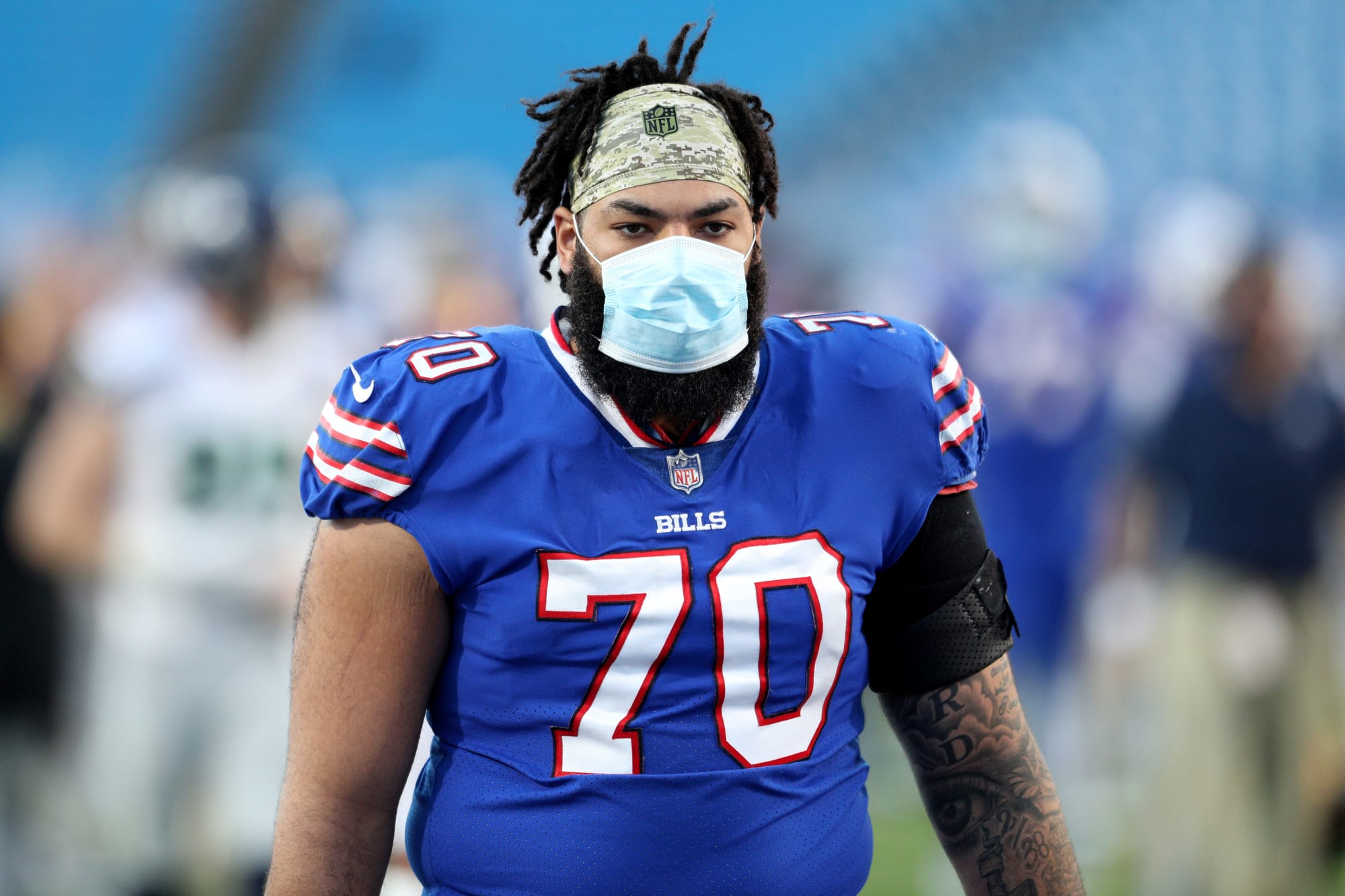 Bills right tackle Cody Ford out for season with meniscus injury