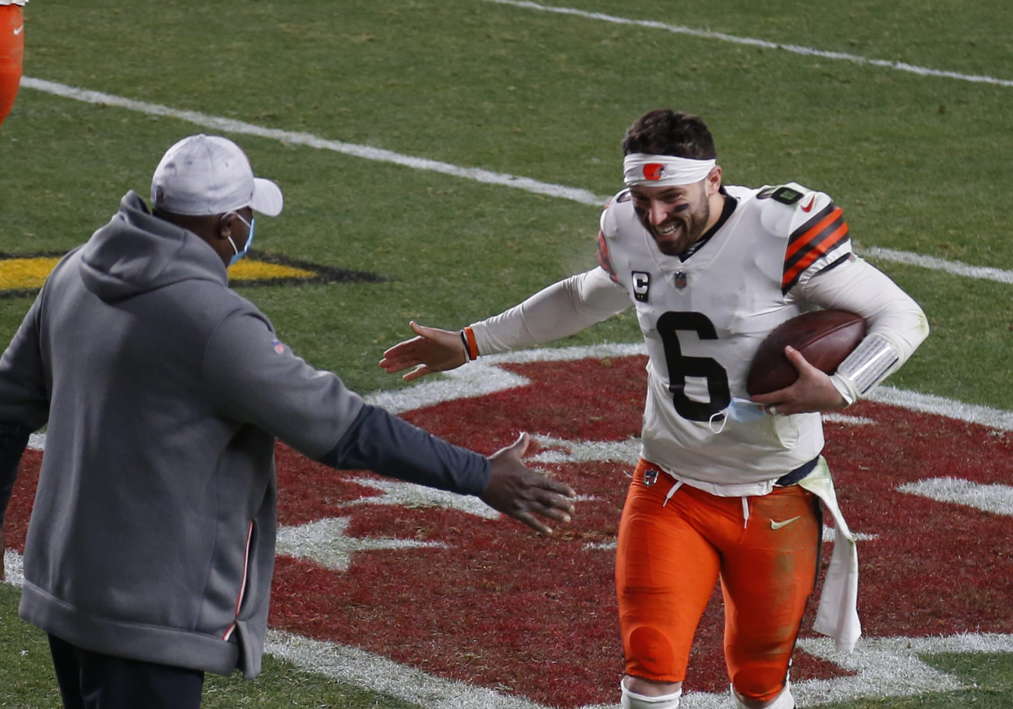 Browns: Baker Mayfield has hilarious comment about being oldest AFC QB remaining