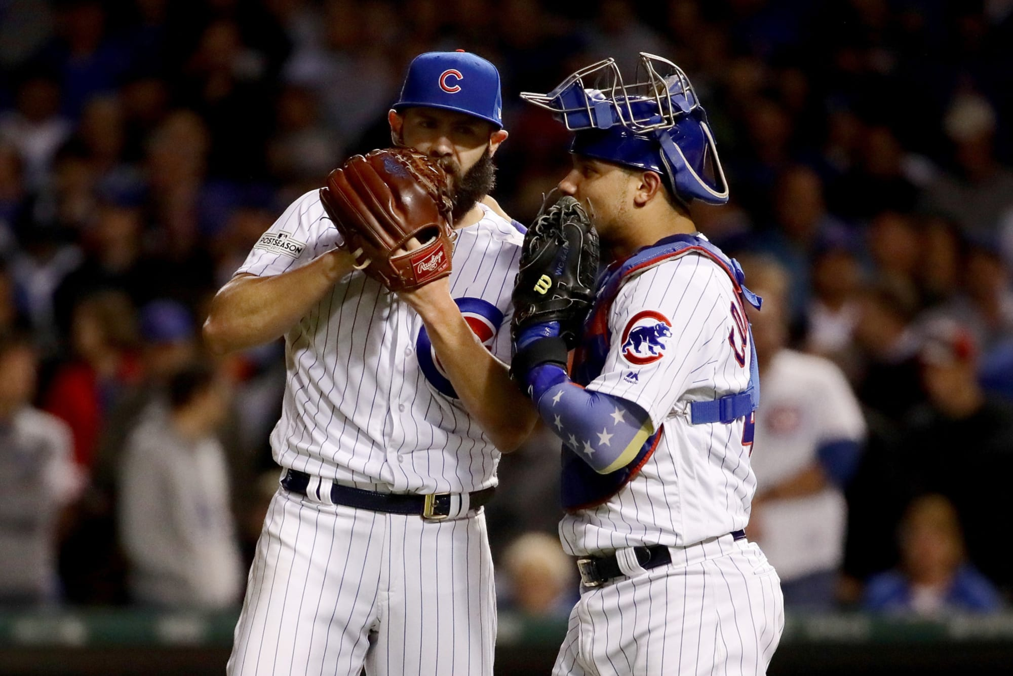 Cubs: Jake Arrieta has unbelievably high praise for Willson Contreras