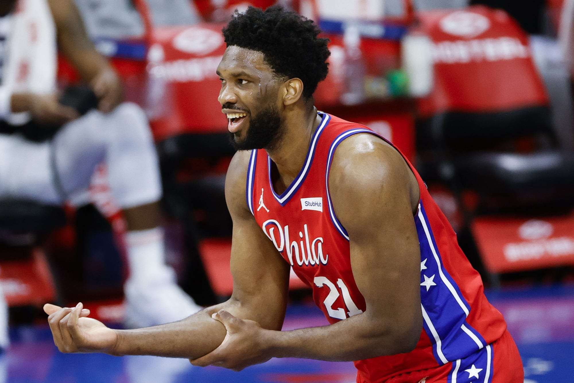 Joel Embiid says he's still the MVP, despite missing so many games