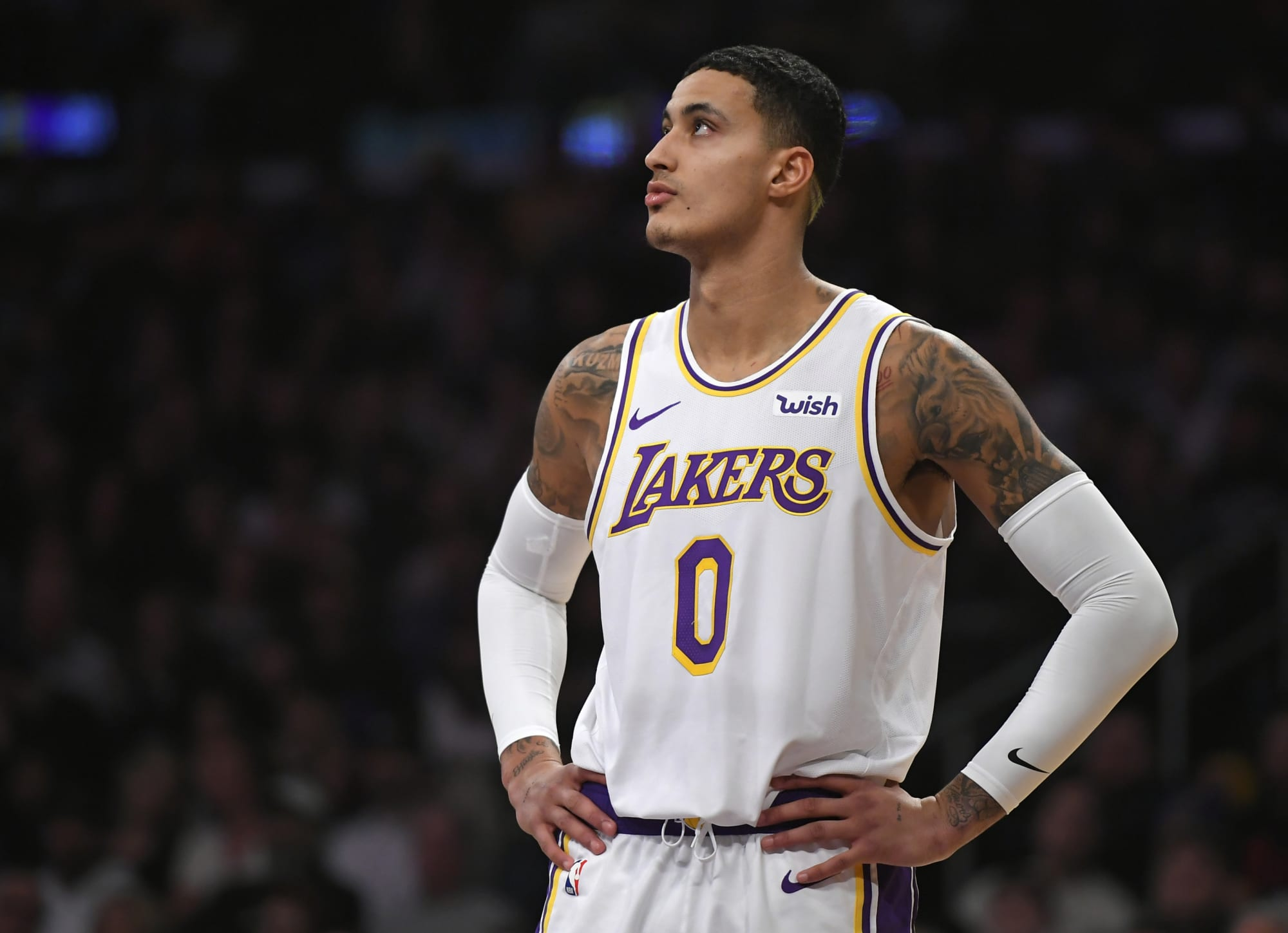 Kyle Kuzma gets roasted for his ridiculous post-game glasses
