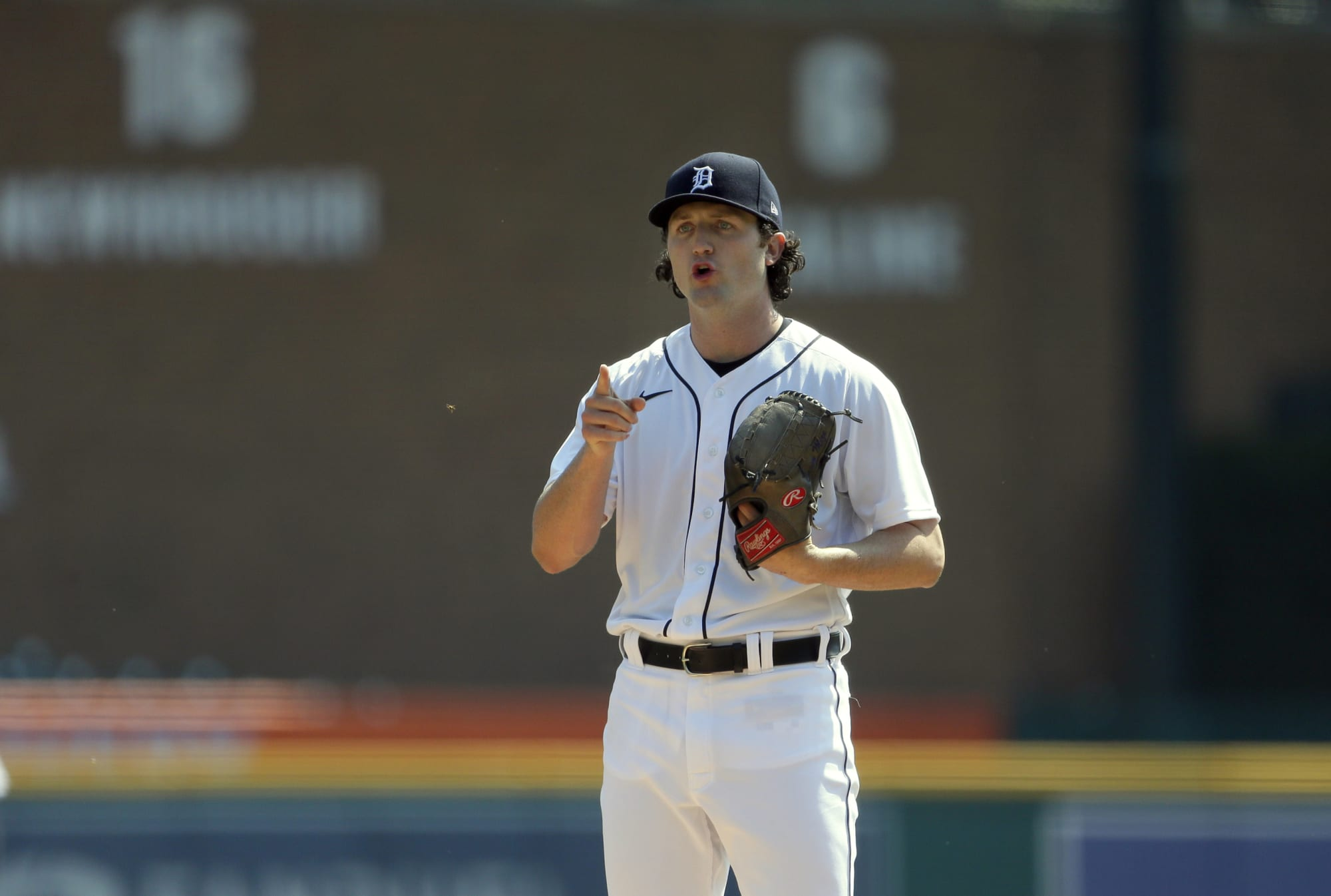 Tigers pitcher Casey Mize calls out umpire for making him change his glove