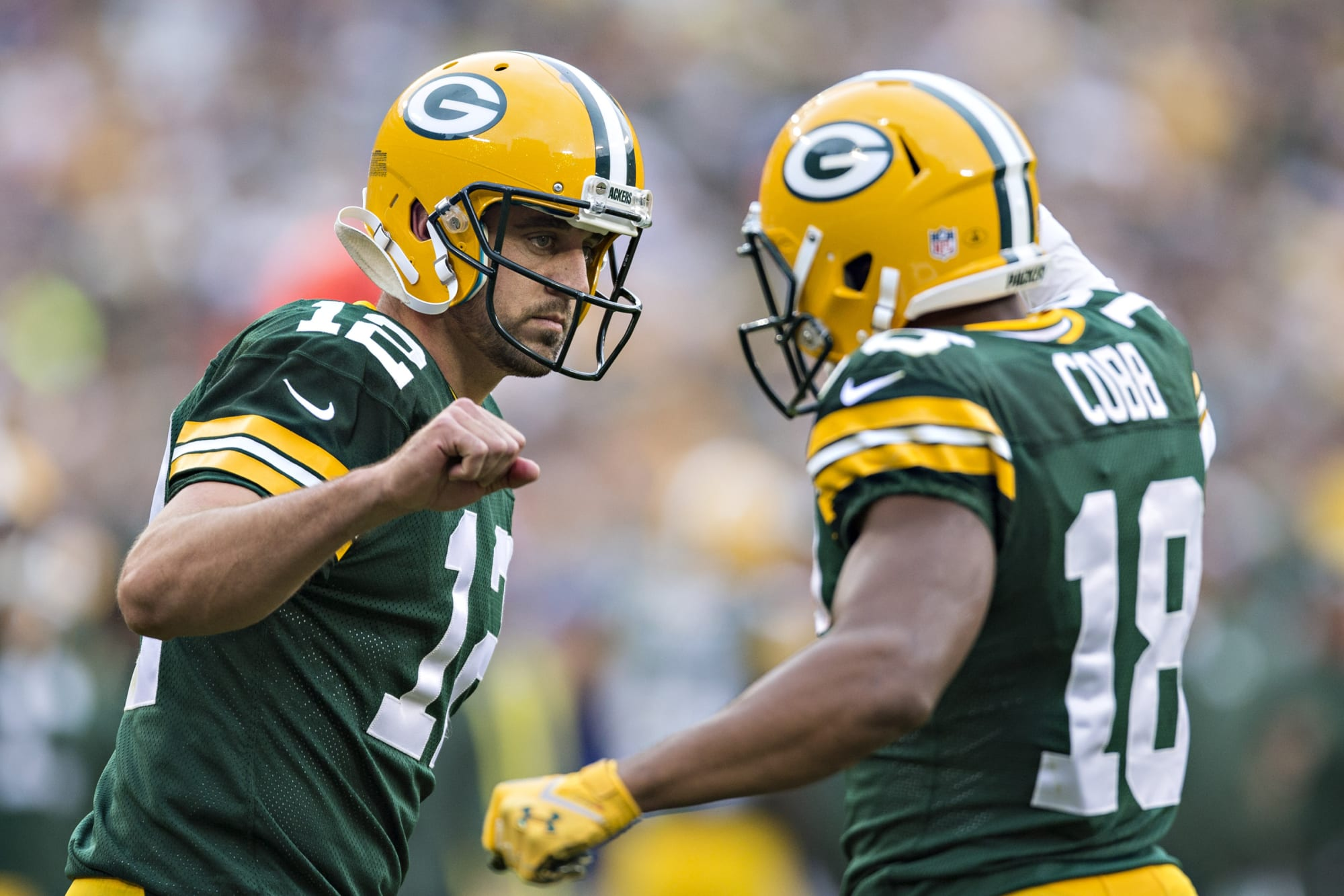 Aaron Rodgers is only coming back to the Packers with … Randall Cobb