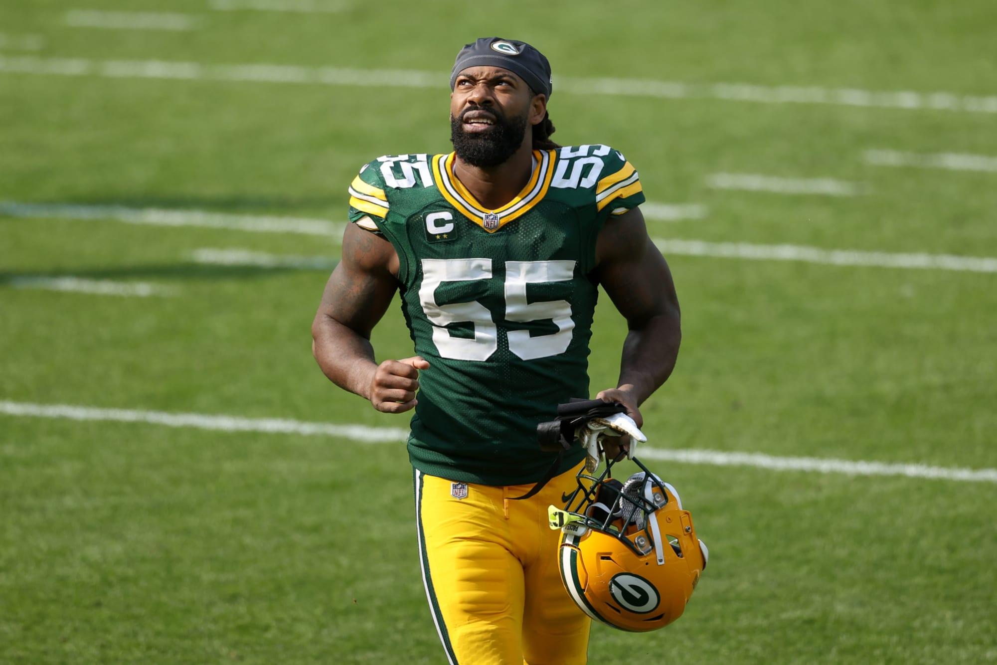 Packers: los días de Za'Darius Smith en Green Bay están contados