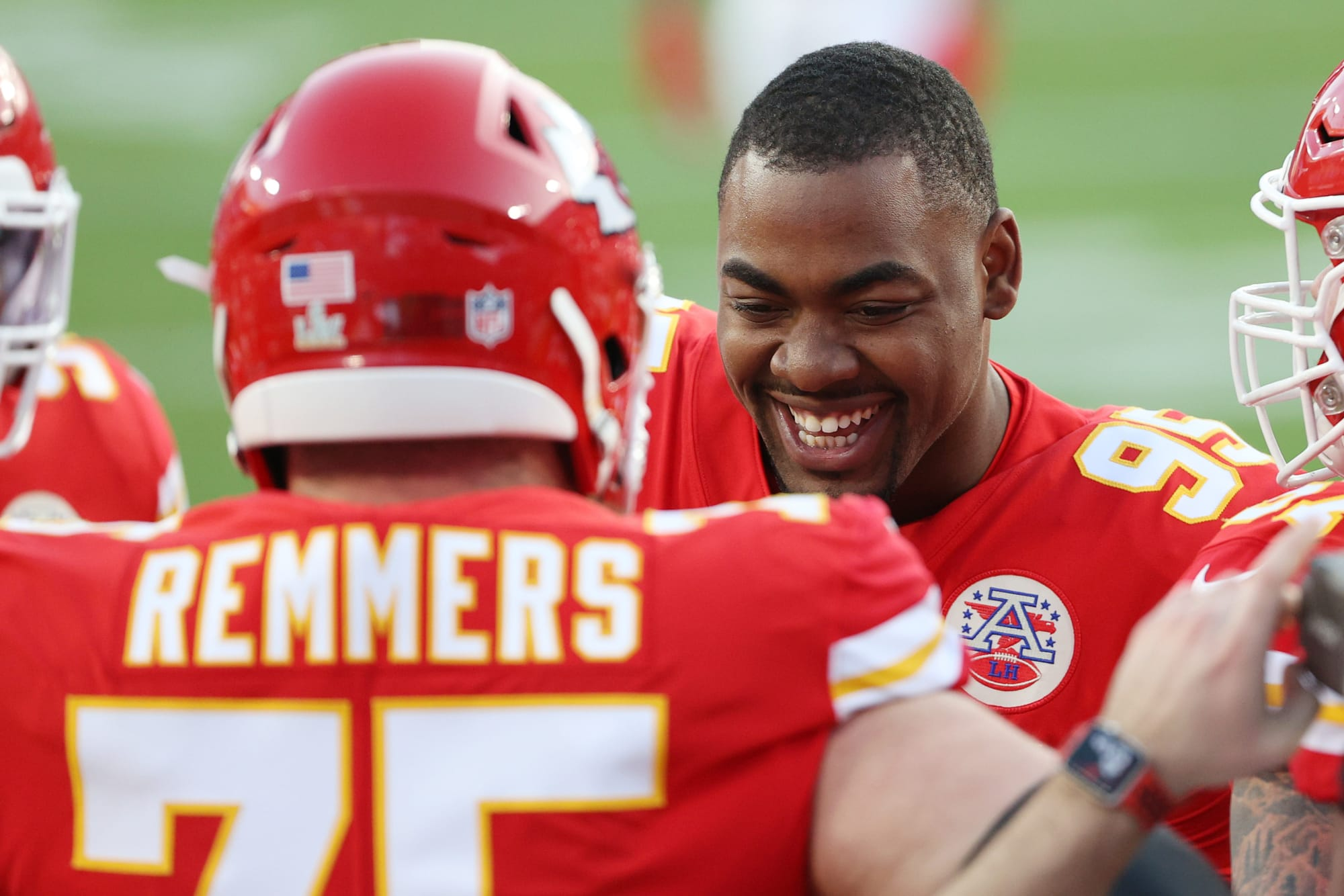 Chris Jones is looking like an absolute monster at Chiefs camp (Video)
