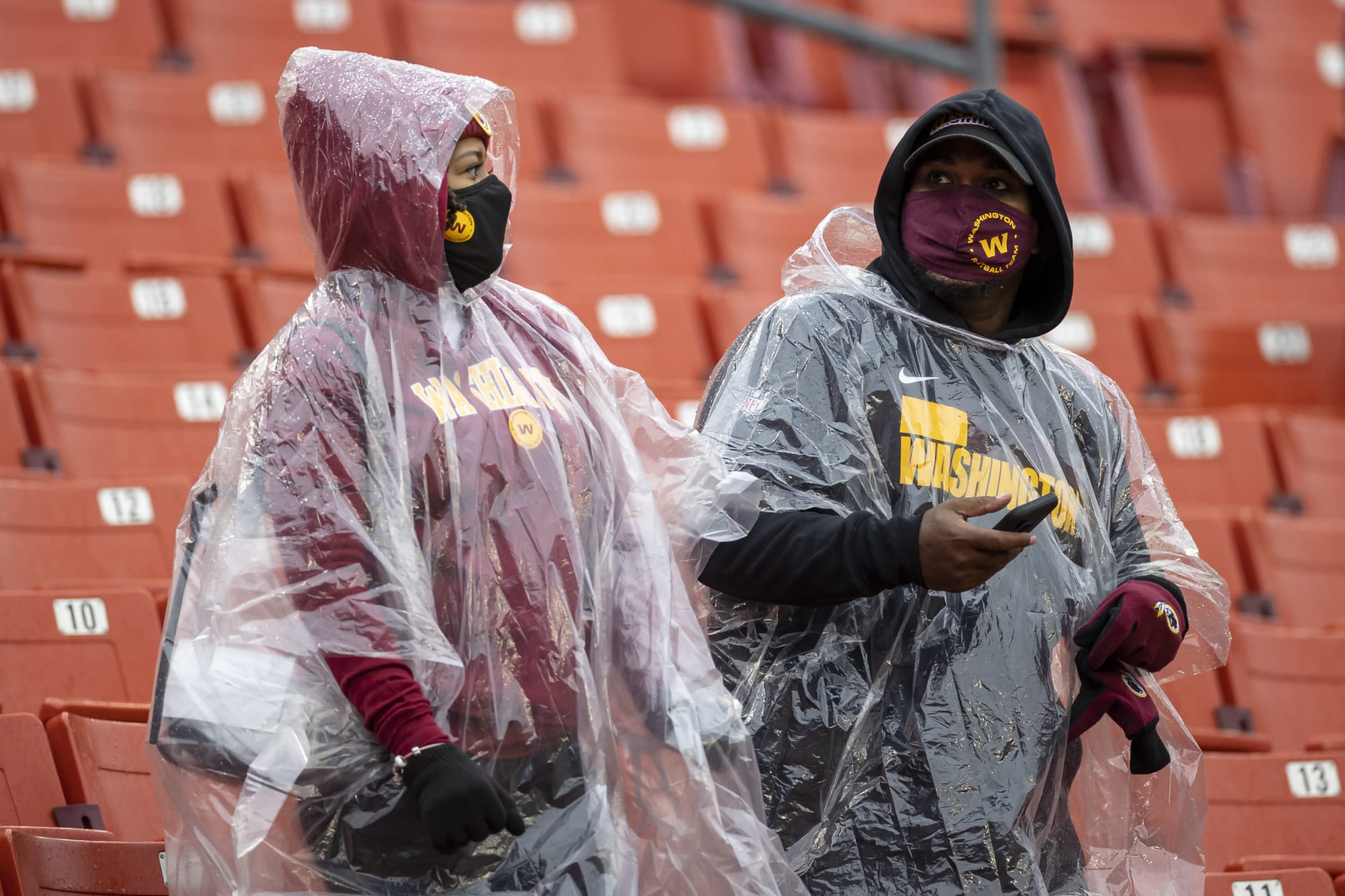 Washington fans get covered in sewage in disgusting video