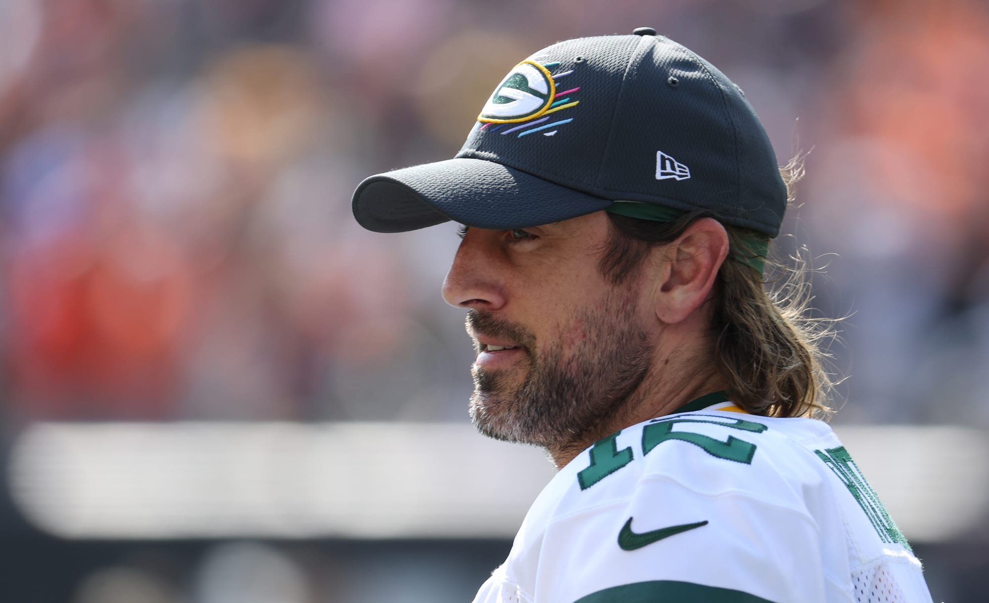 Aaron Rodgers gives hilariously frank answer about possibility of joining the Bears