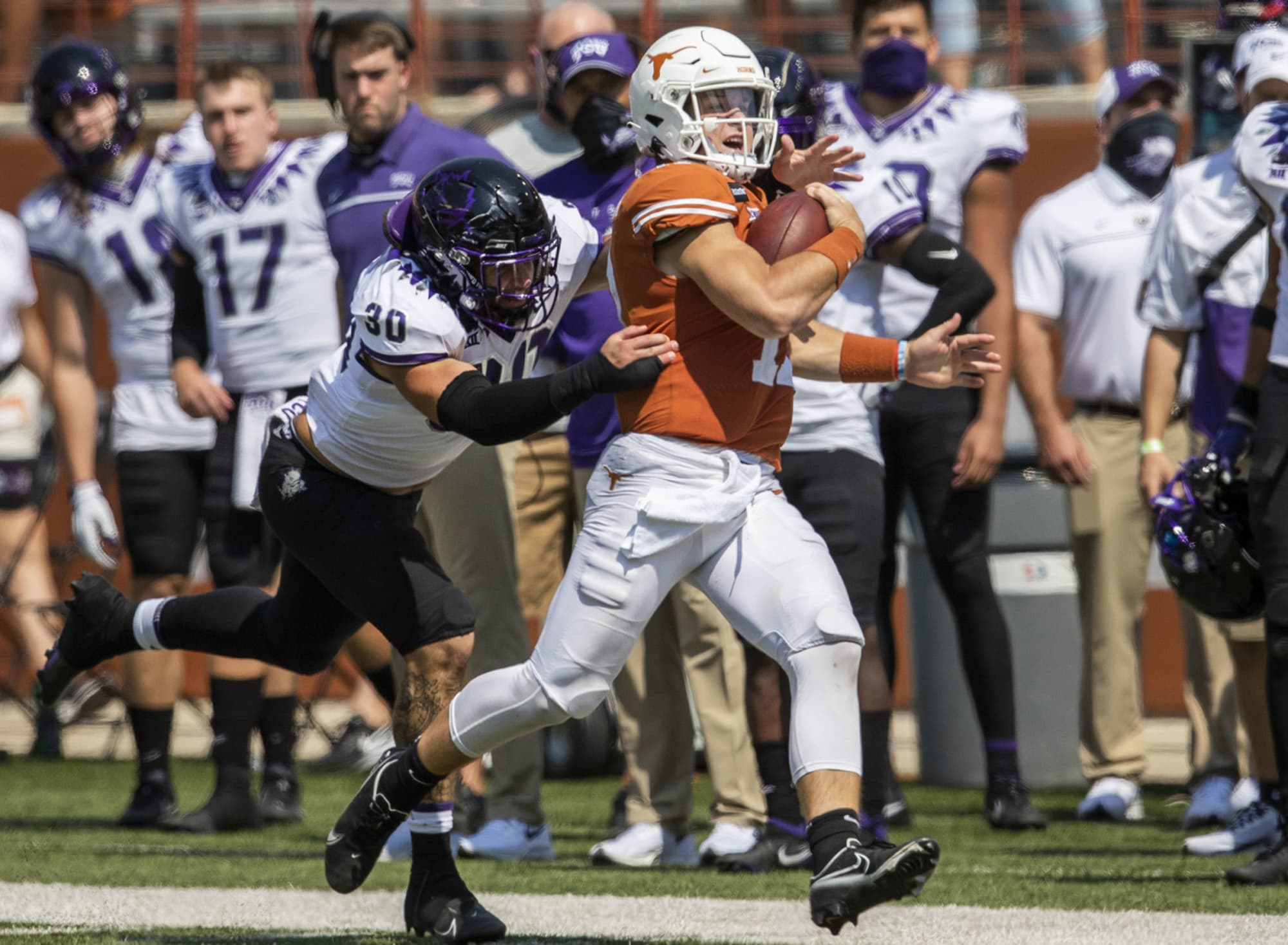 Sam Ehlinger Shares The Bitter Truth After Texas Lost To Tcu