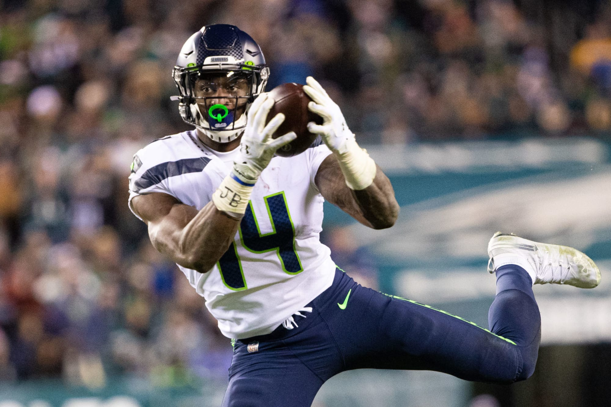 Seahawks' star D.K. Metcalf sends message to his haters on LinkedIn