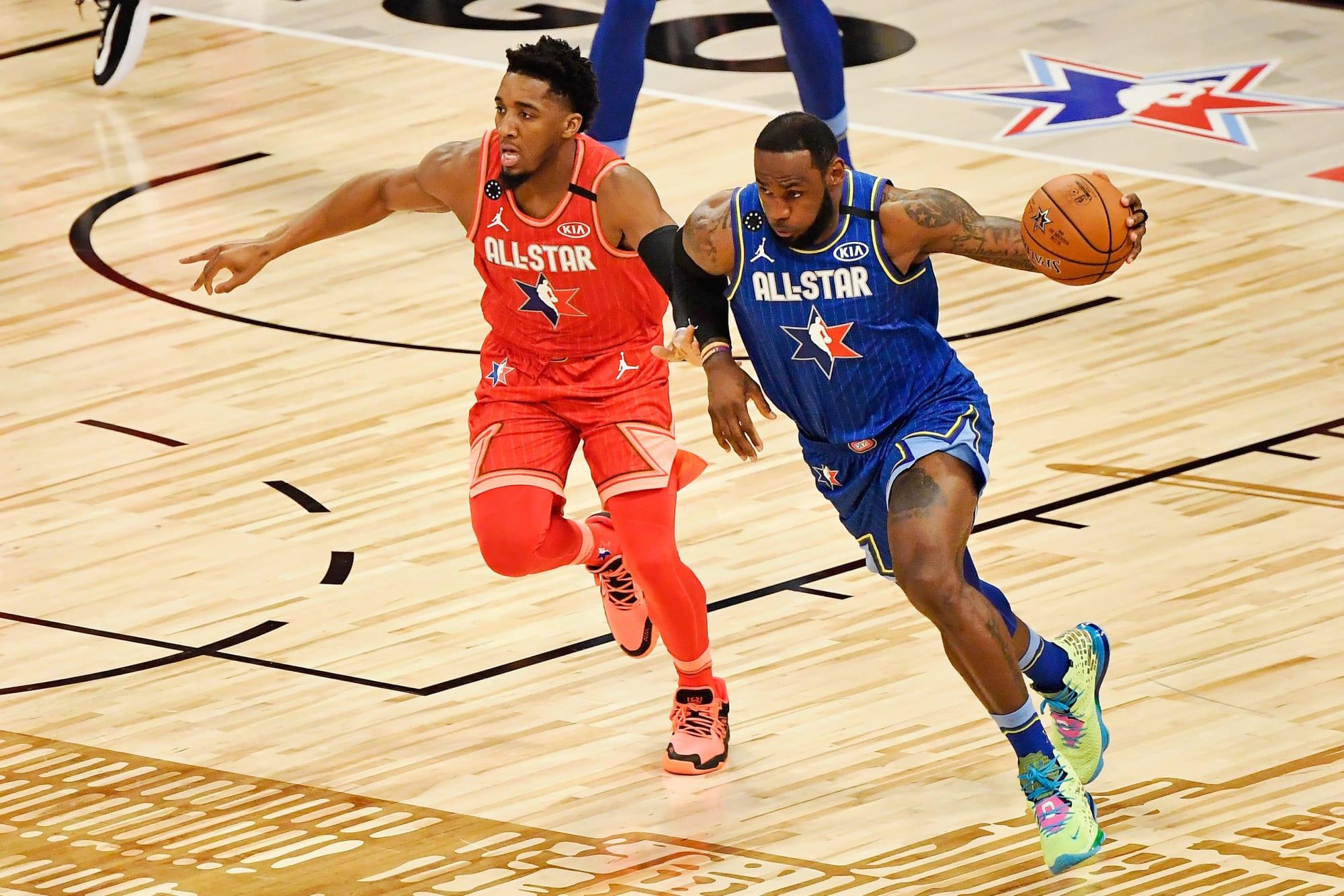 Jazz: Donovan Mitchell claps back at LeBron James' disrespectful comments thumbnail