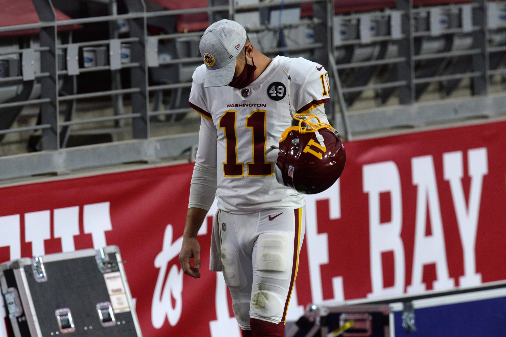 Alex Smith's future with the Washington Football Team seems to have been decided