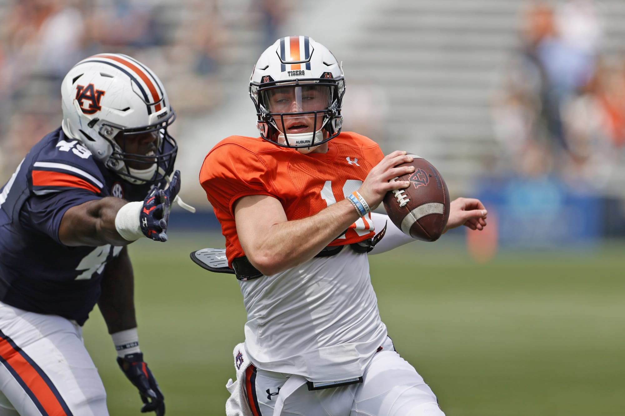 Auburn football: Bryan Harsin weighs in on the good and bad from Bo Mix's spring game