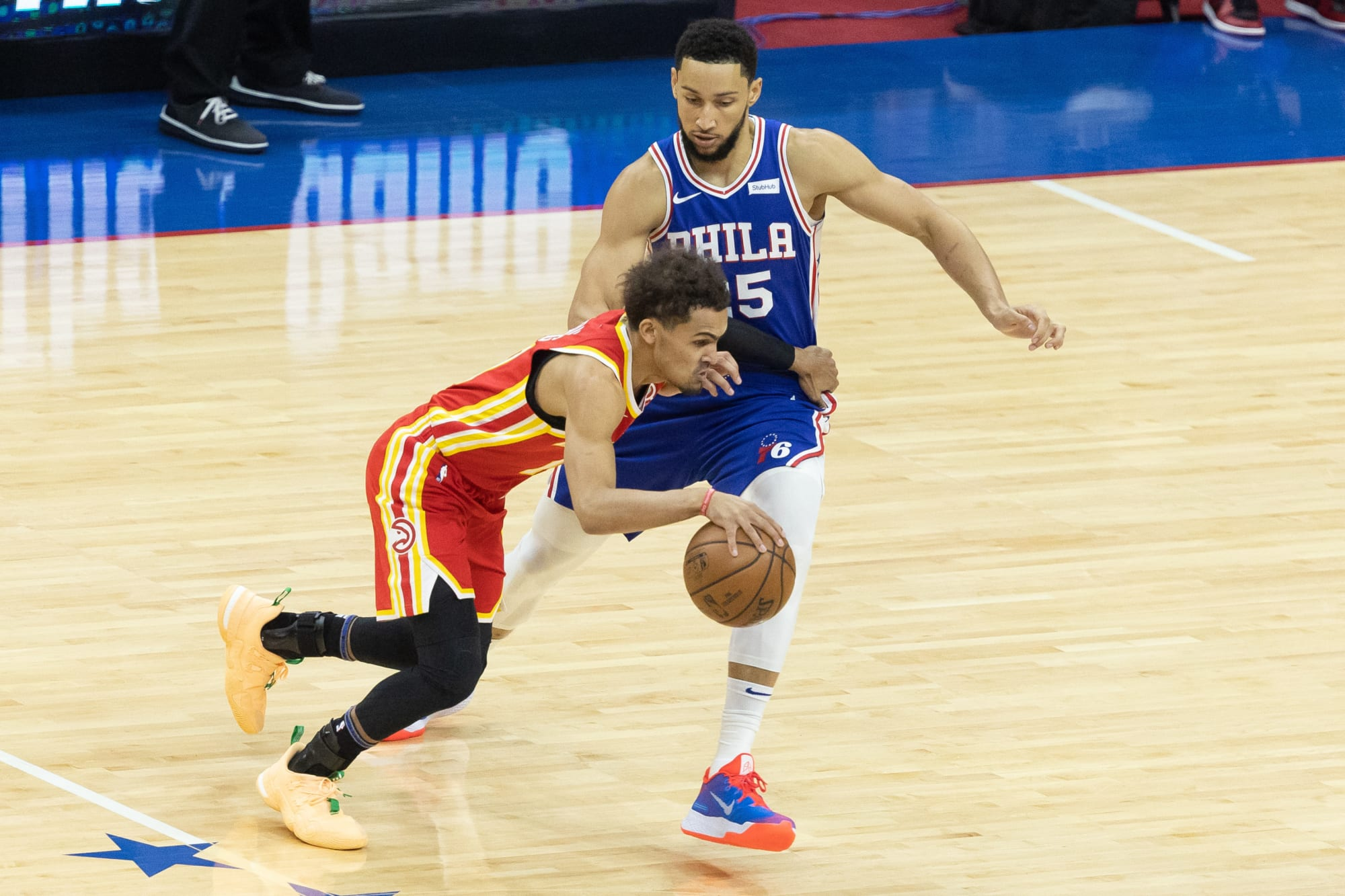 The Whiteboard: Ben Simmons on Trae Young, nobody on Donovan Mitchell and more