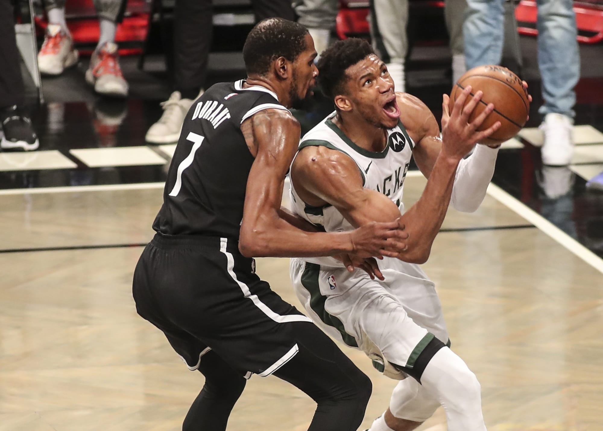 Giannis Antetokounmpo's Game 7 performance vs. Nets was a legacy game
