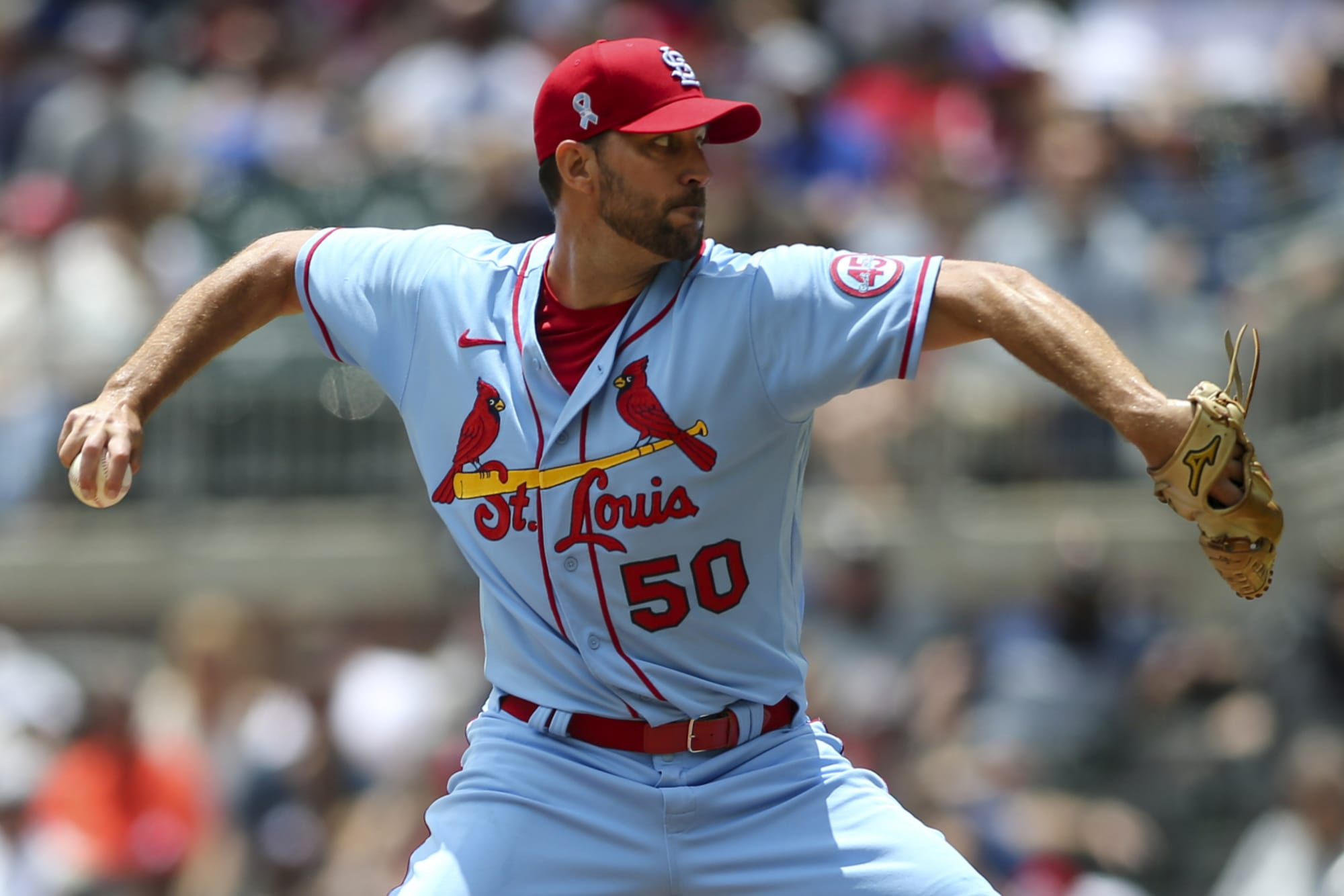 Adam Wainwright downright embarrassed Braves hitters in complete game (Video)