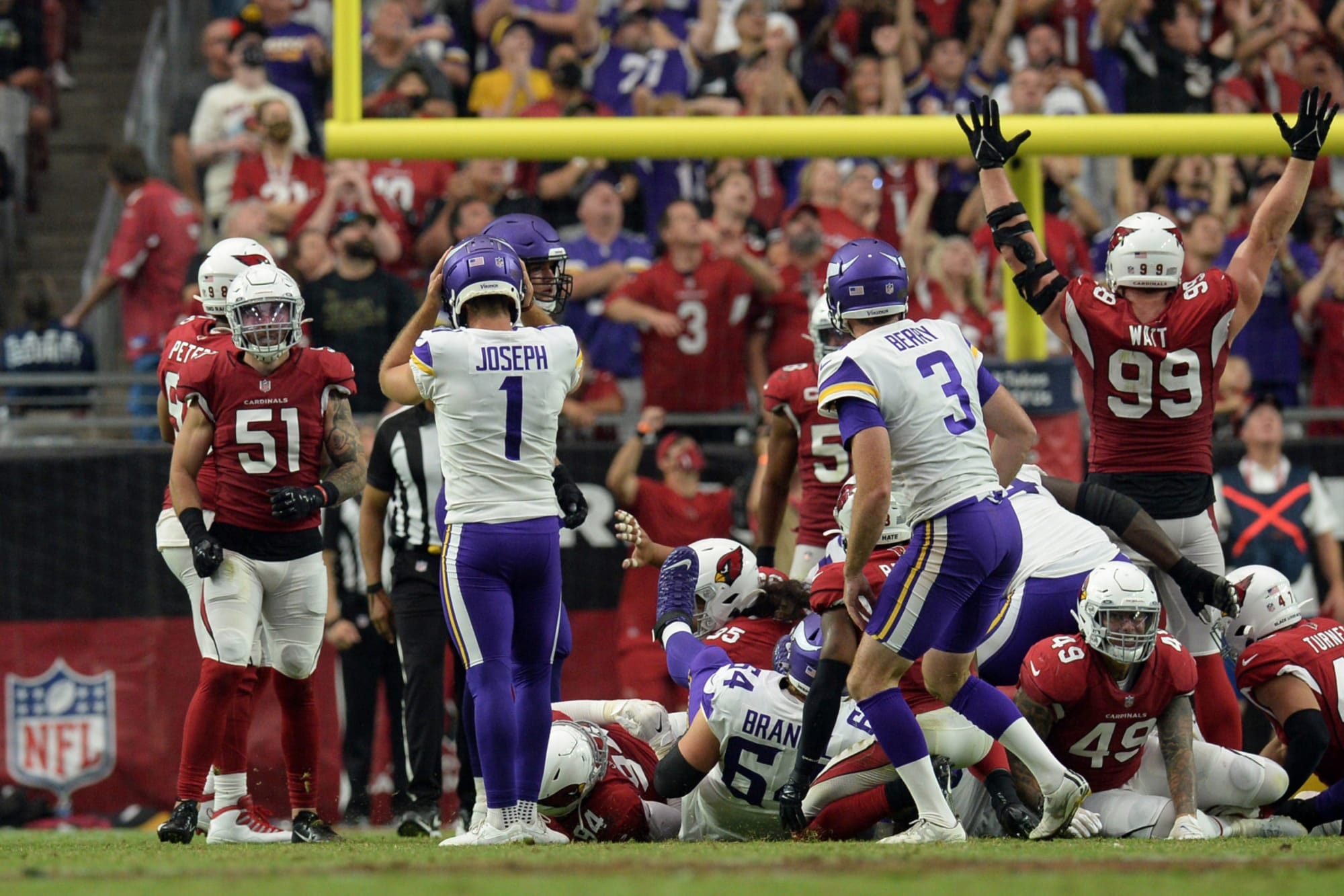 Vikings' radio call of Greg Joseph's missed FG is everything you imagined