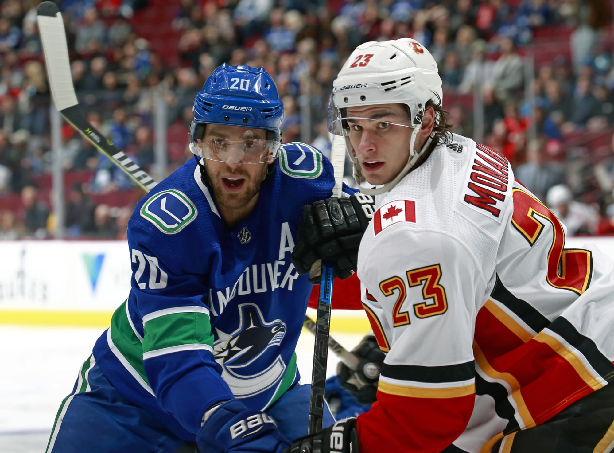 Calgary Flames Get A Taste Of Their Own Medicine Vs Vancouver Canucks