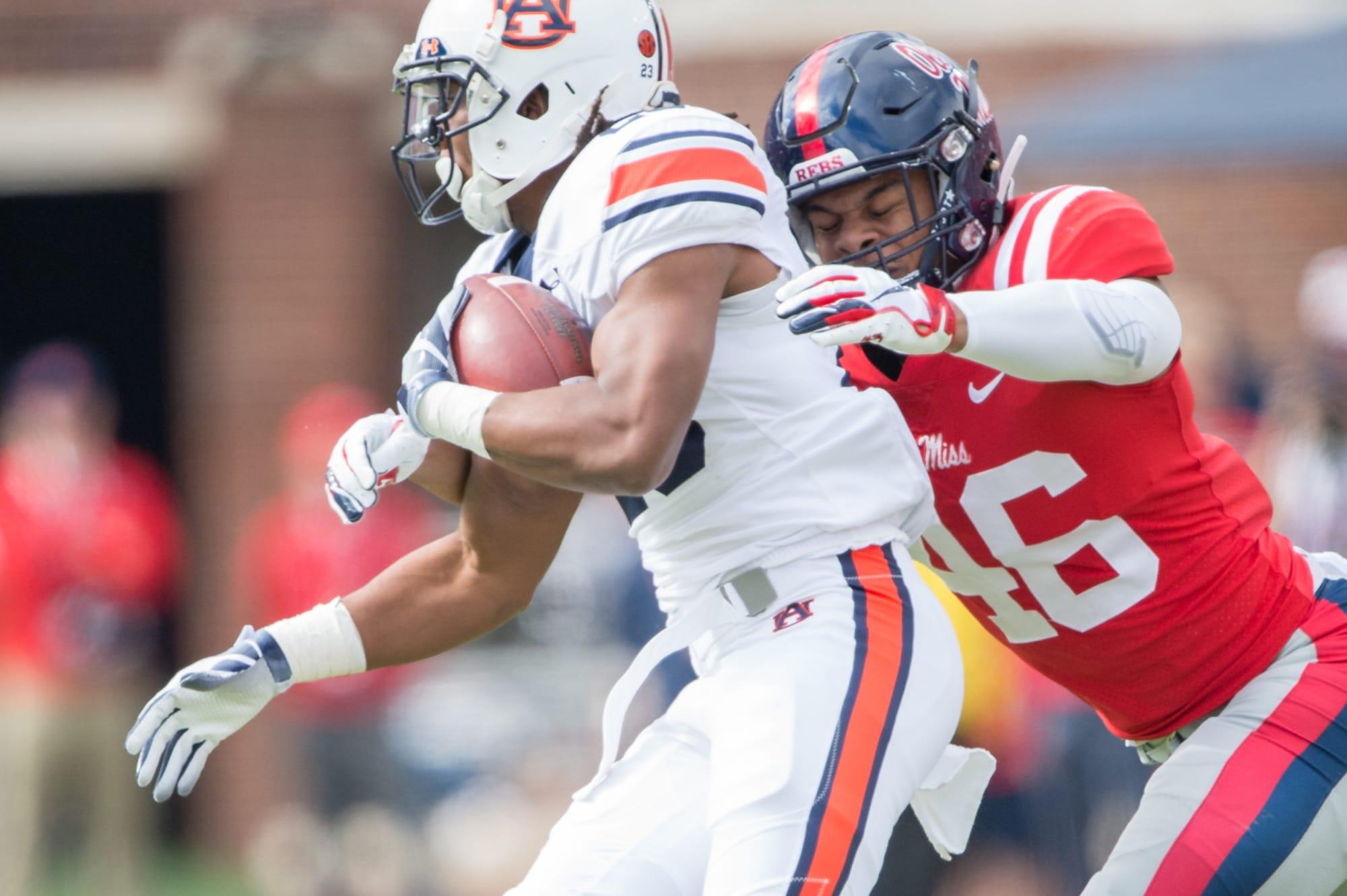 Auburn football: Camden Brown calls AU 'best school' recruiting him
