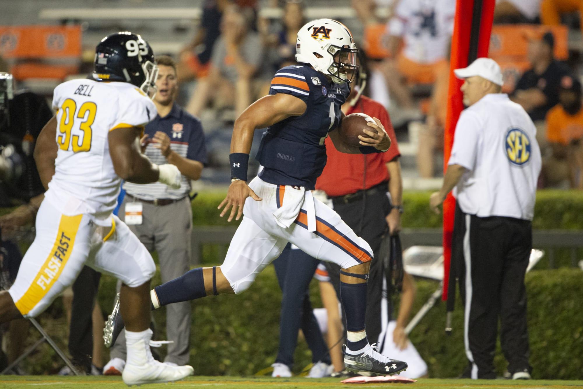 Auburn Football: Run Game Returns but Fans Curb Enthusiasm
