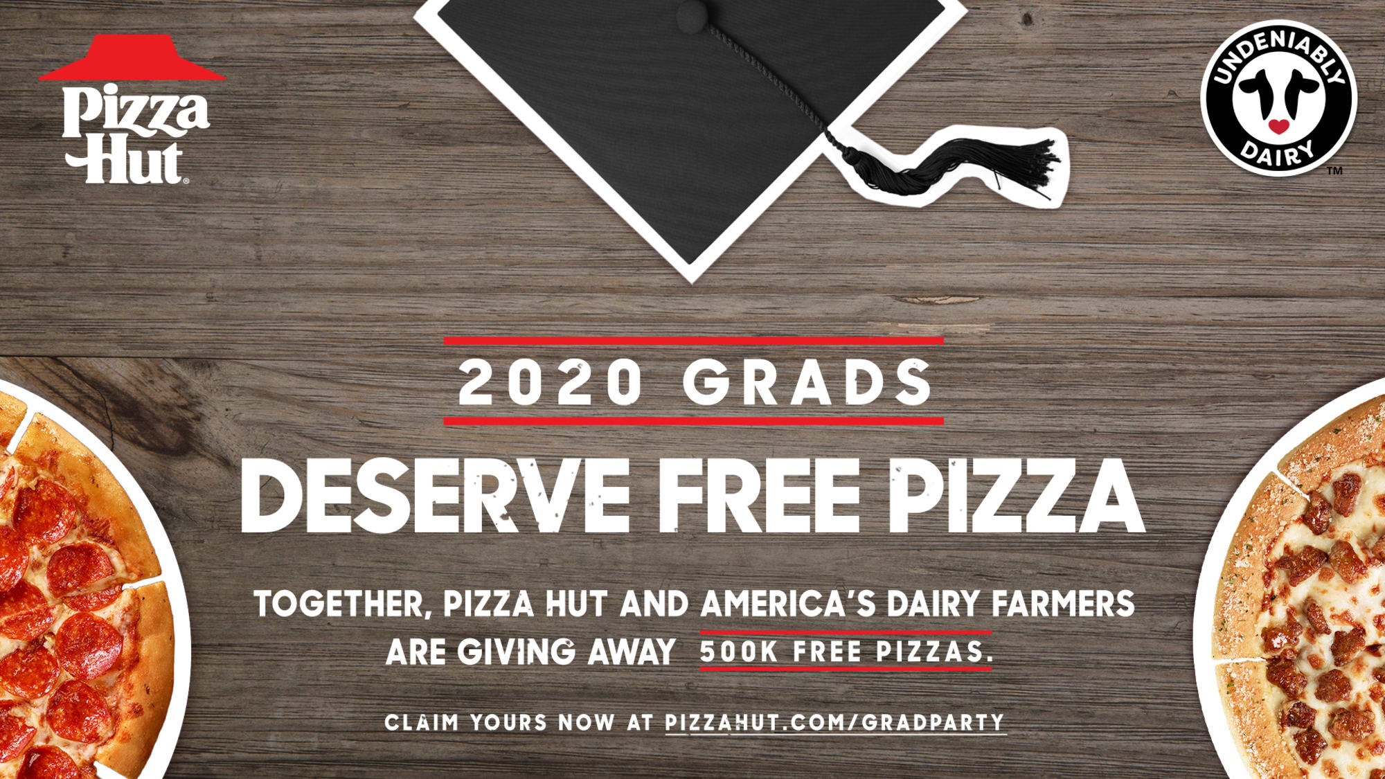 Free Pizza Hut pizza for 2020 graduates is a reason to celebrate