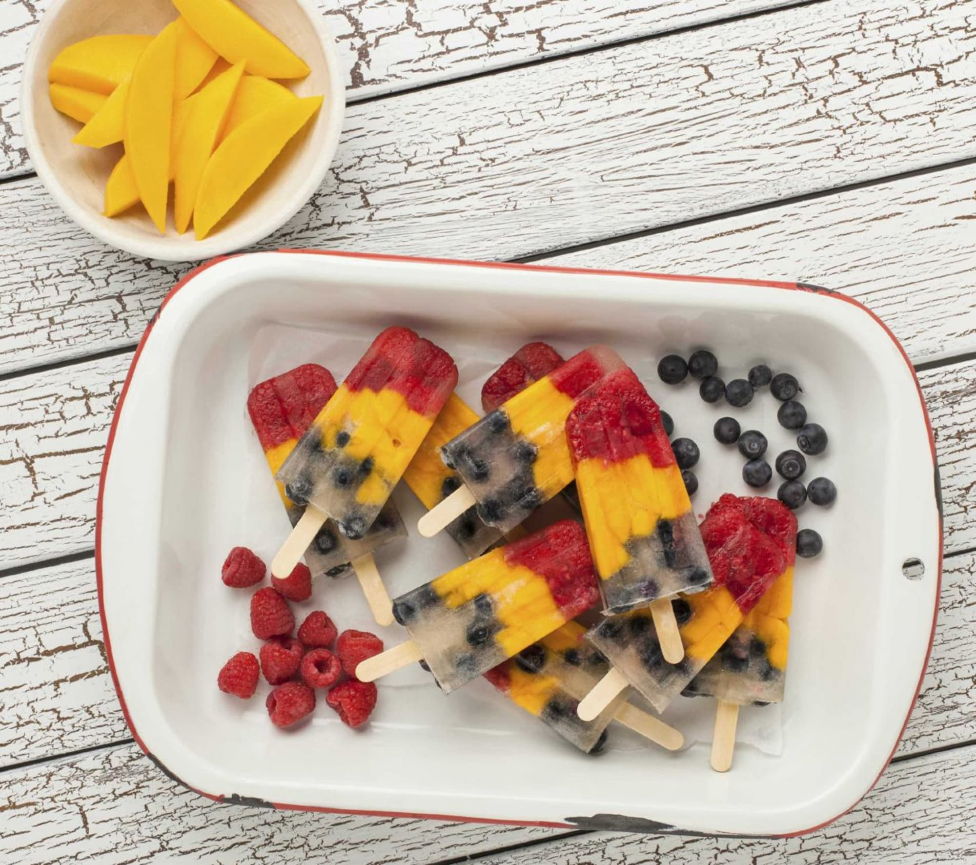Easy fruit popsicle recipes that the whole family will love