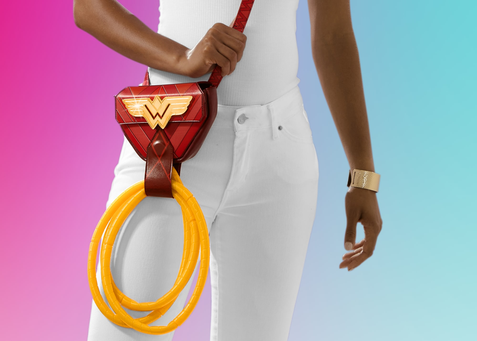 SweeTARTS Golden Ropes Holder is the ultimate Wonder Woman accessory