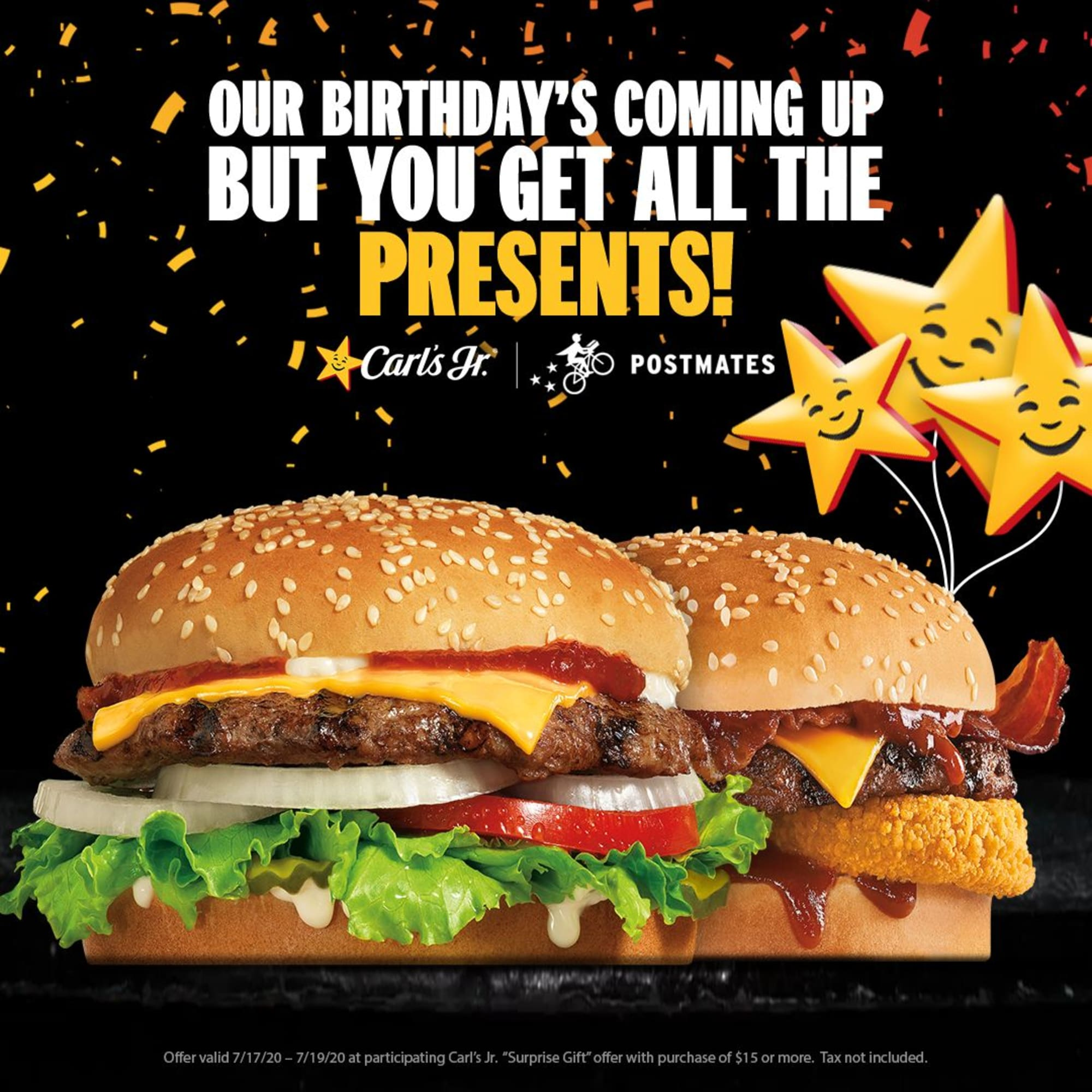 Carl's Jr celebrates its 79th birthday with a big Feed Your Happy celebration