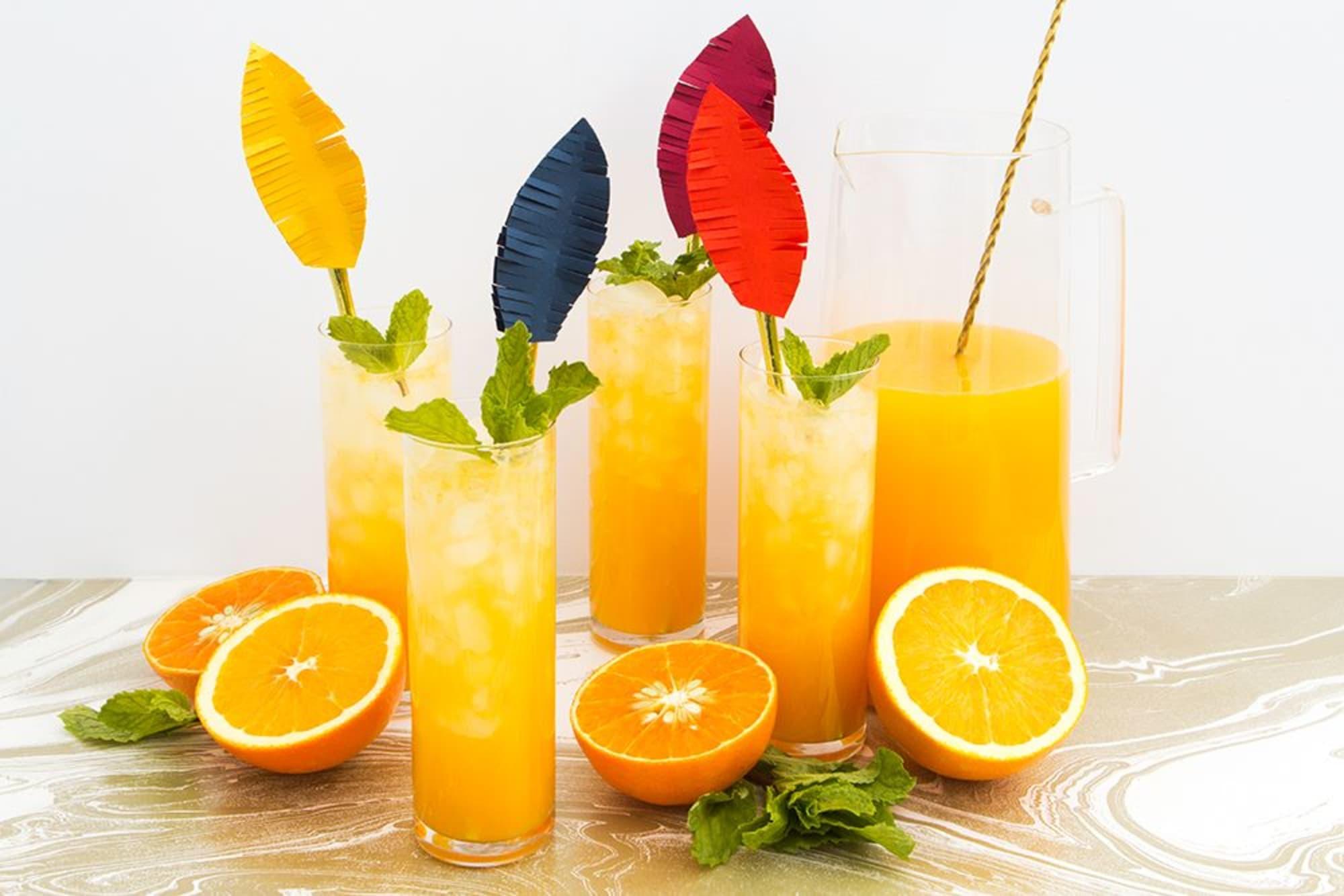 Orange Tangerine Mojito is a tasty flavor twist for National Mojito Day