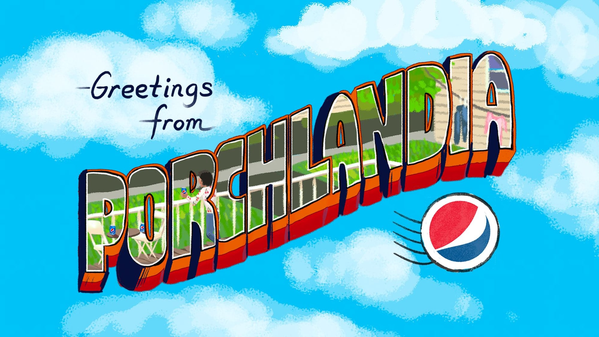Pepsi satisfies our wanderlust with its Staycation Postcards
