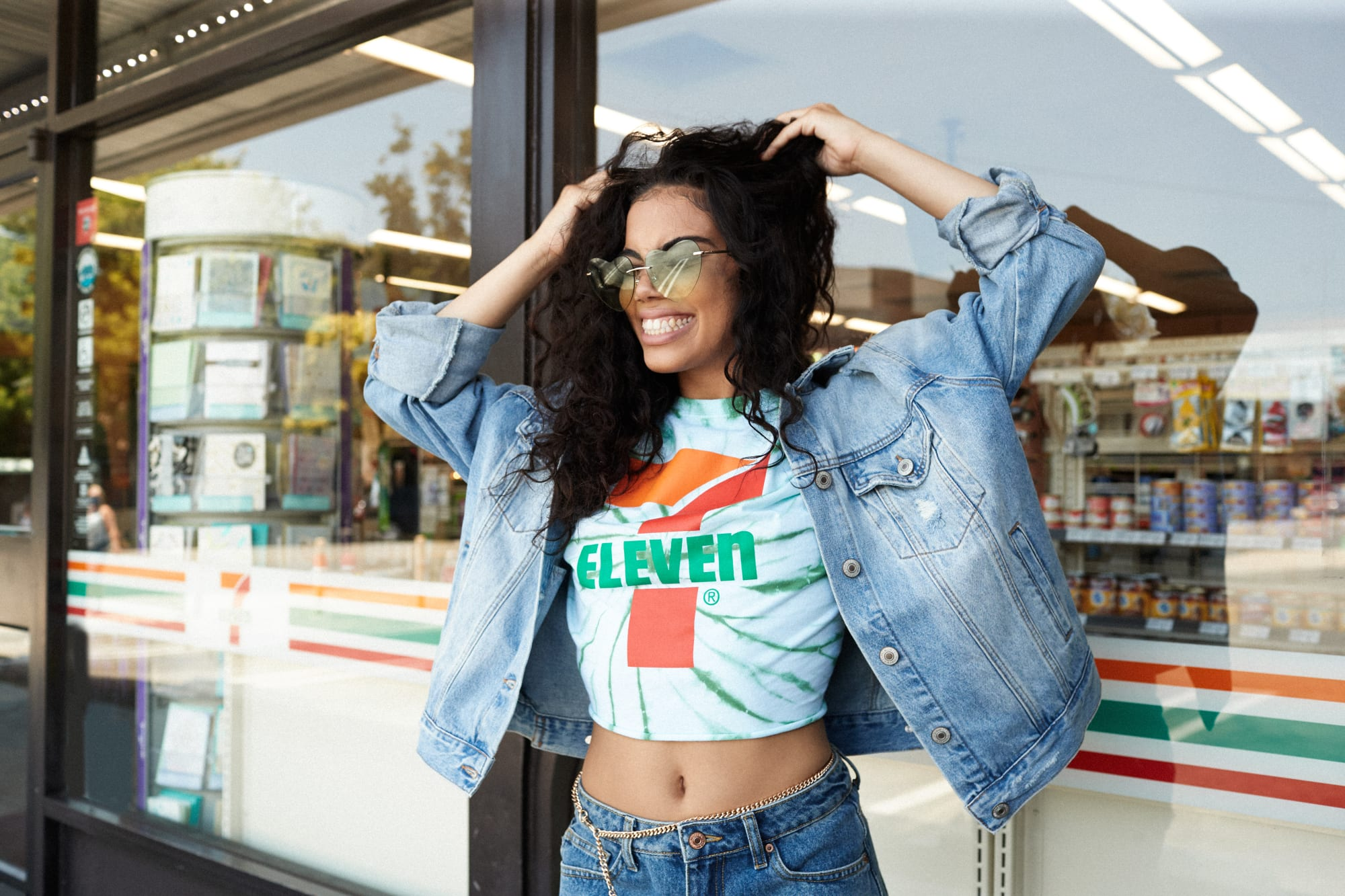 7-Eleven Forever 21 capsule collection is as vibrant as your favorite Slurpee