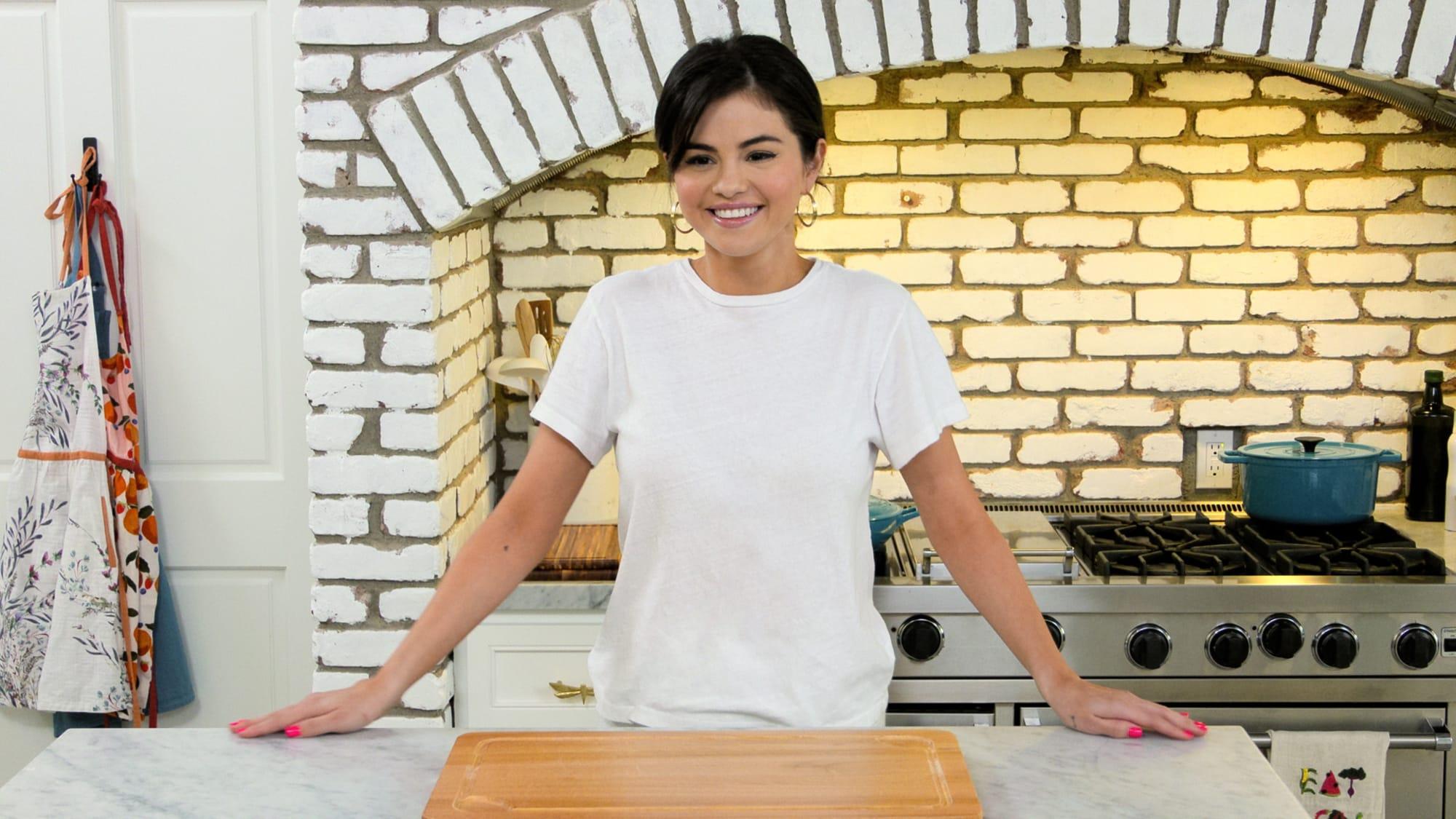 Selena Gomez shares a Cheesy Chicken Tortilla Chip Casserole recipe