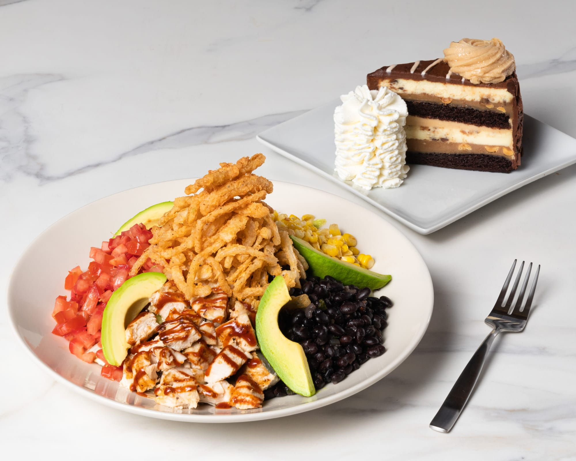 The Cheesecake Factory has 900 lunch combinations with this lunch deal